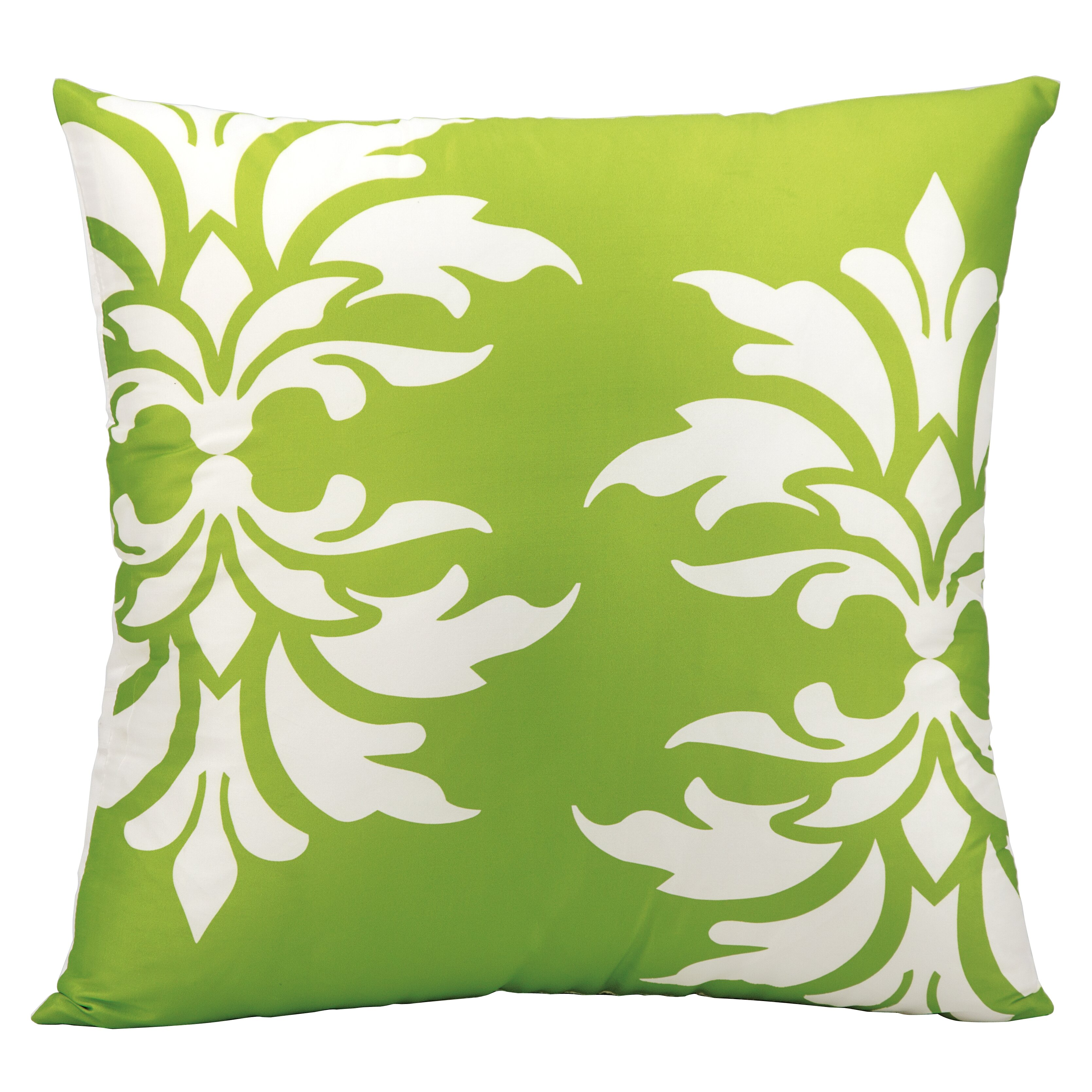 Throw Pillows Damask : Andover Mills Eudora Double Damask Outdoor Throw Pillow & Reviews Wayfair