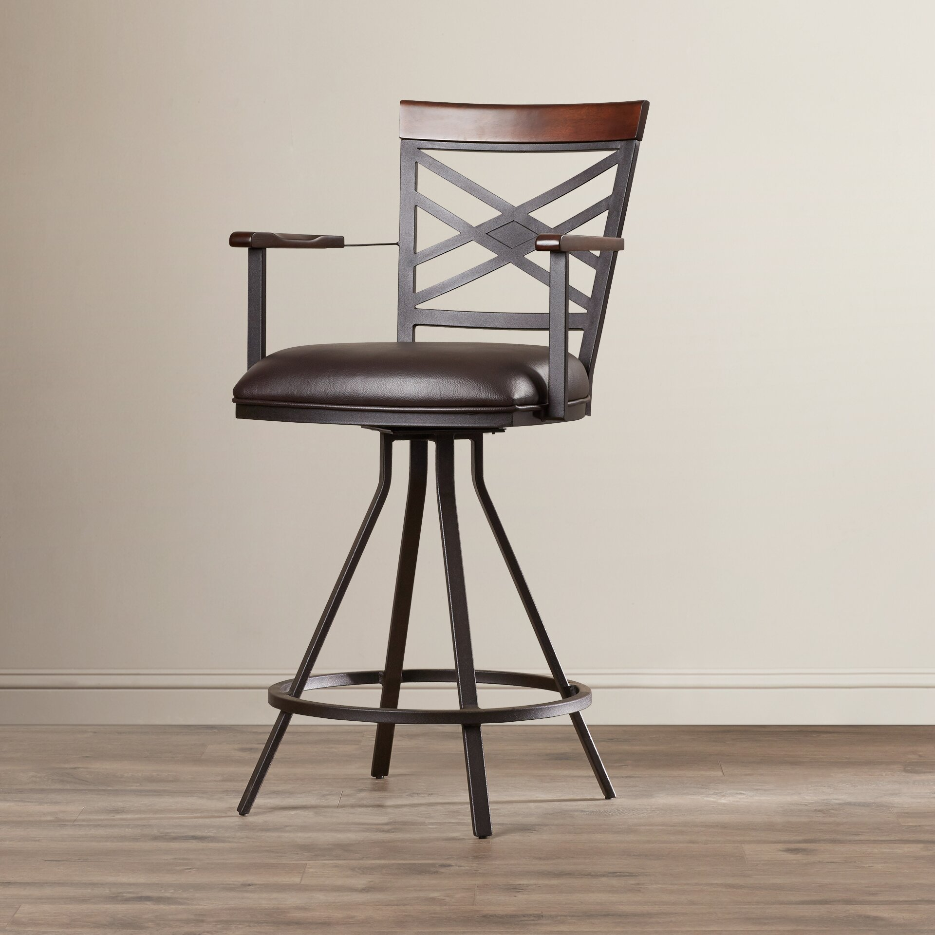 Andover Mills Christopher 26 Quot Swivel Bar Stool Amp Reviews