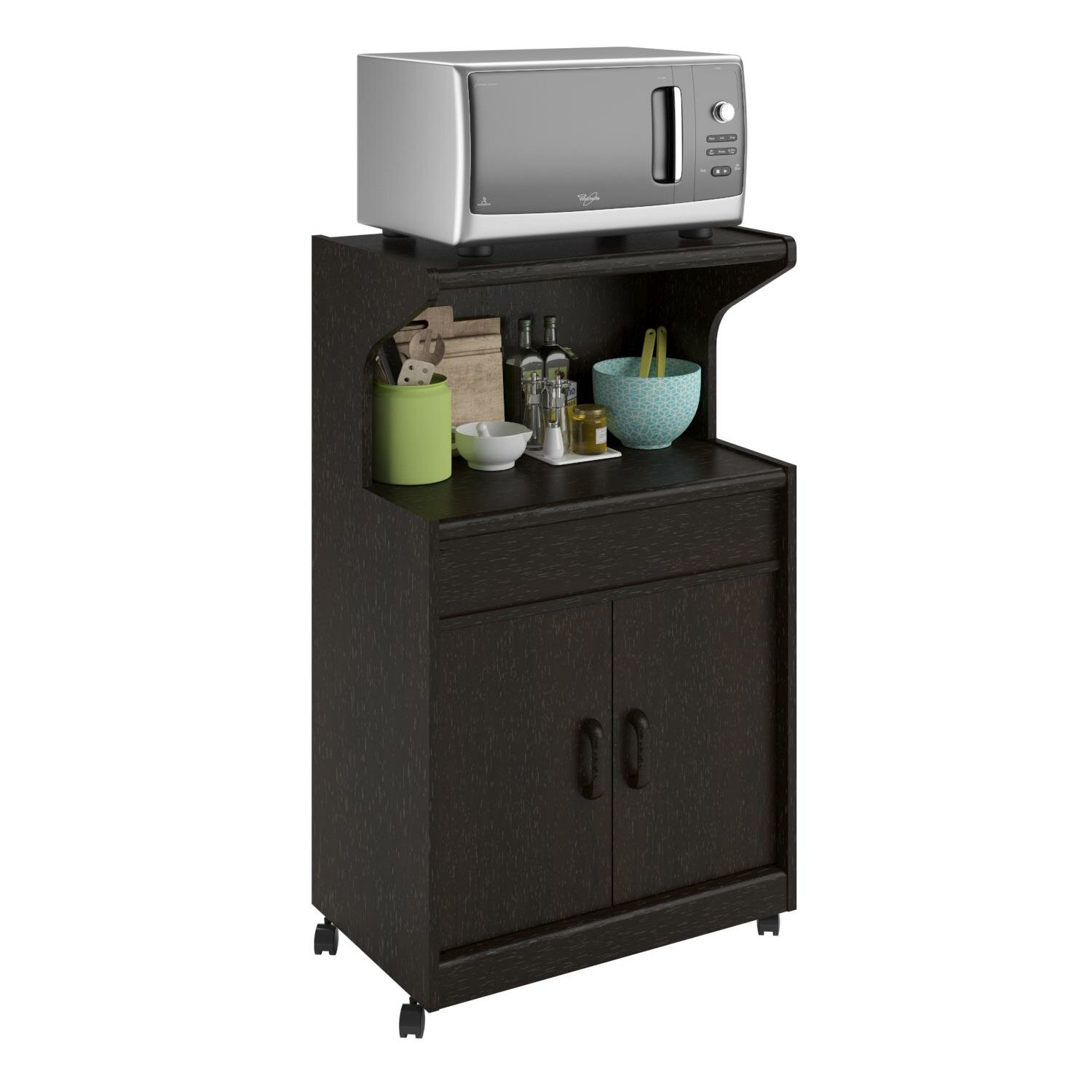 Andover Mills Howland Microwave Cart & Reviews | Wayfair