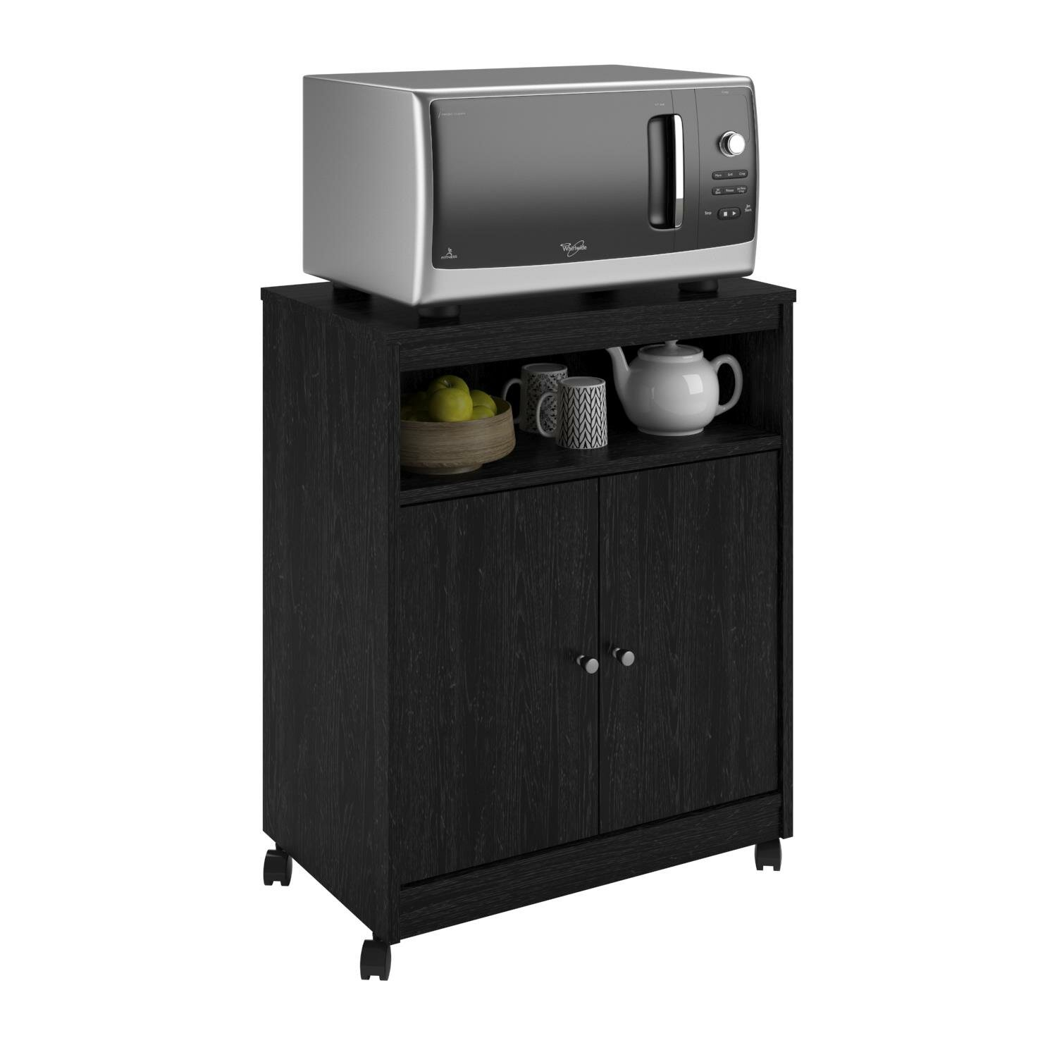 Shop Simple Living Rolling Galvin Microwave Cart: Andover Mills Kauffman Microwave Cart & Reviews