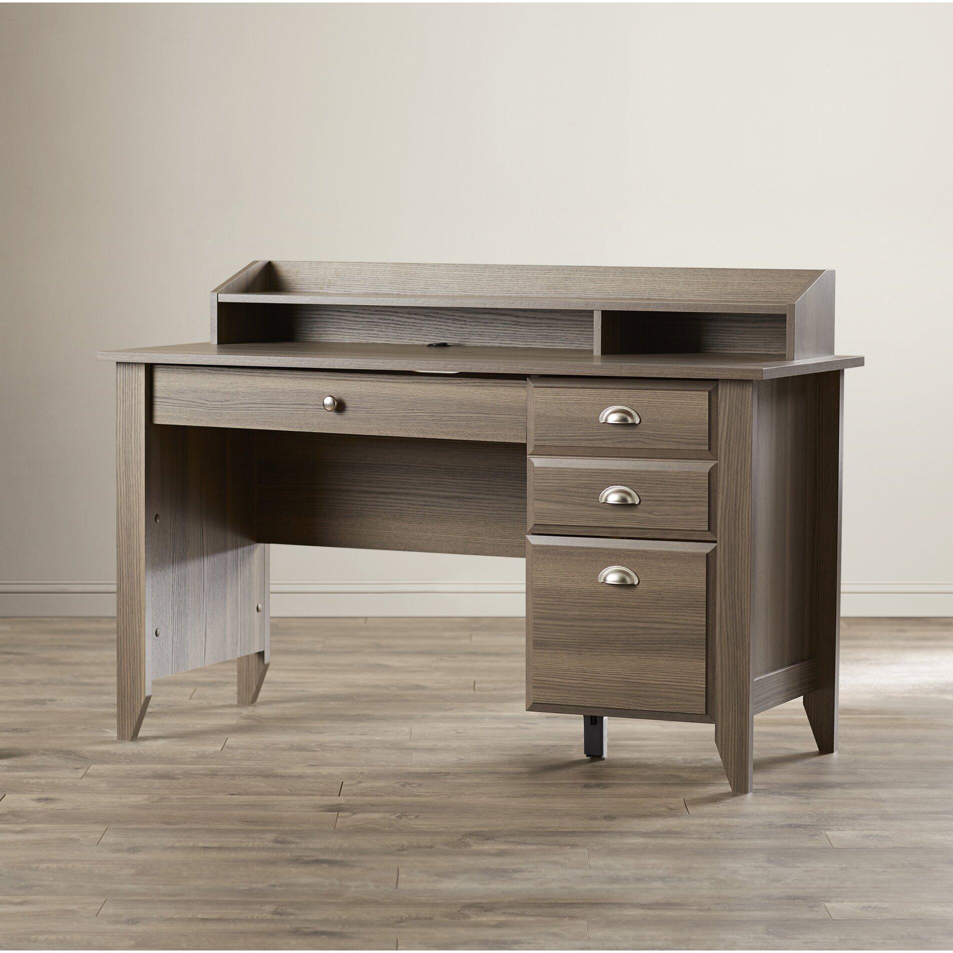 Andover Mills Revere 3 Drawer Computer Desk & Reviews ...