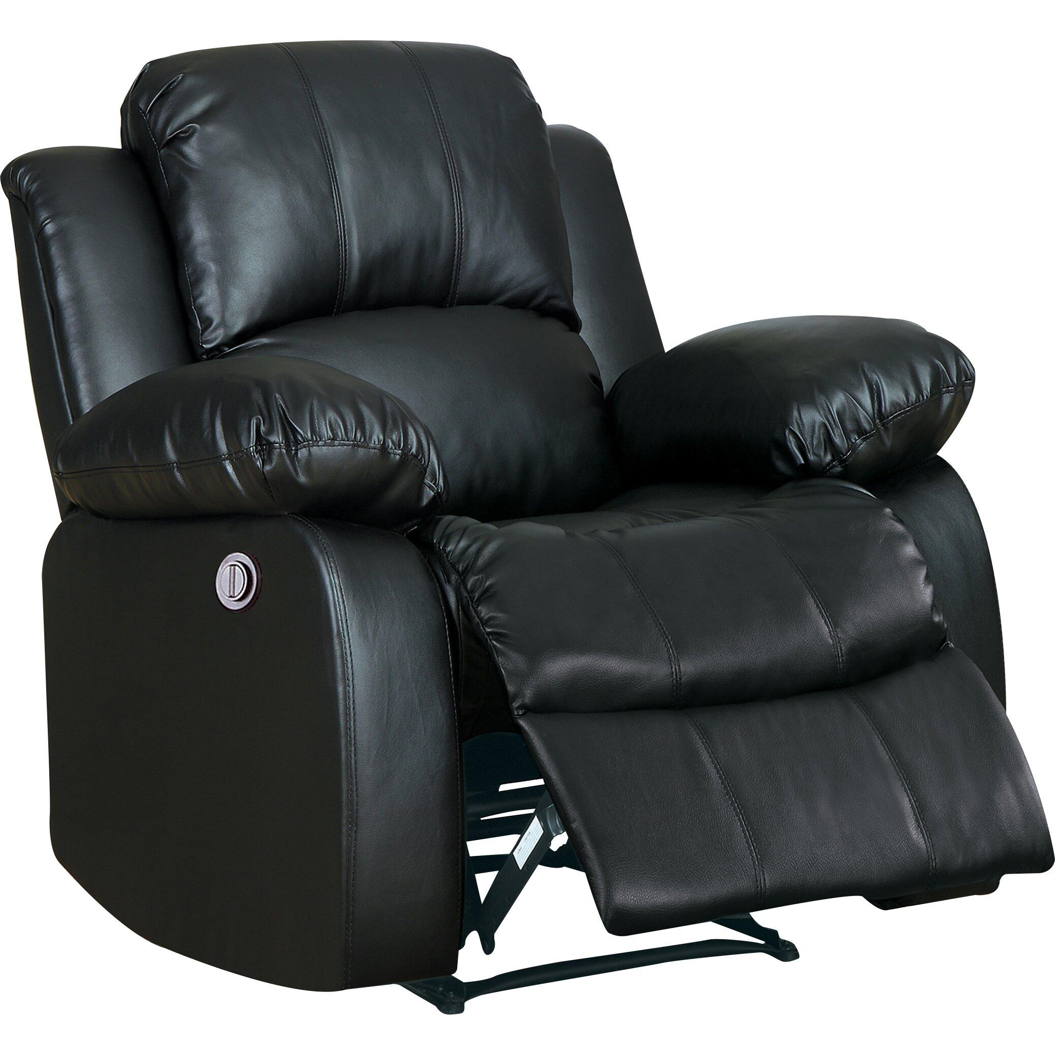 Andover mills aldreda power recliner reviews wayfair for Electric recliners reviews