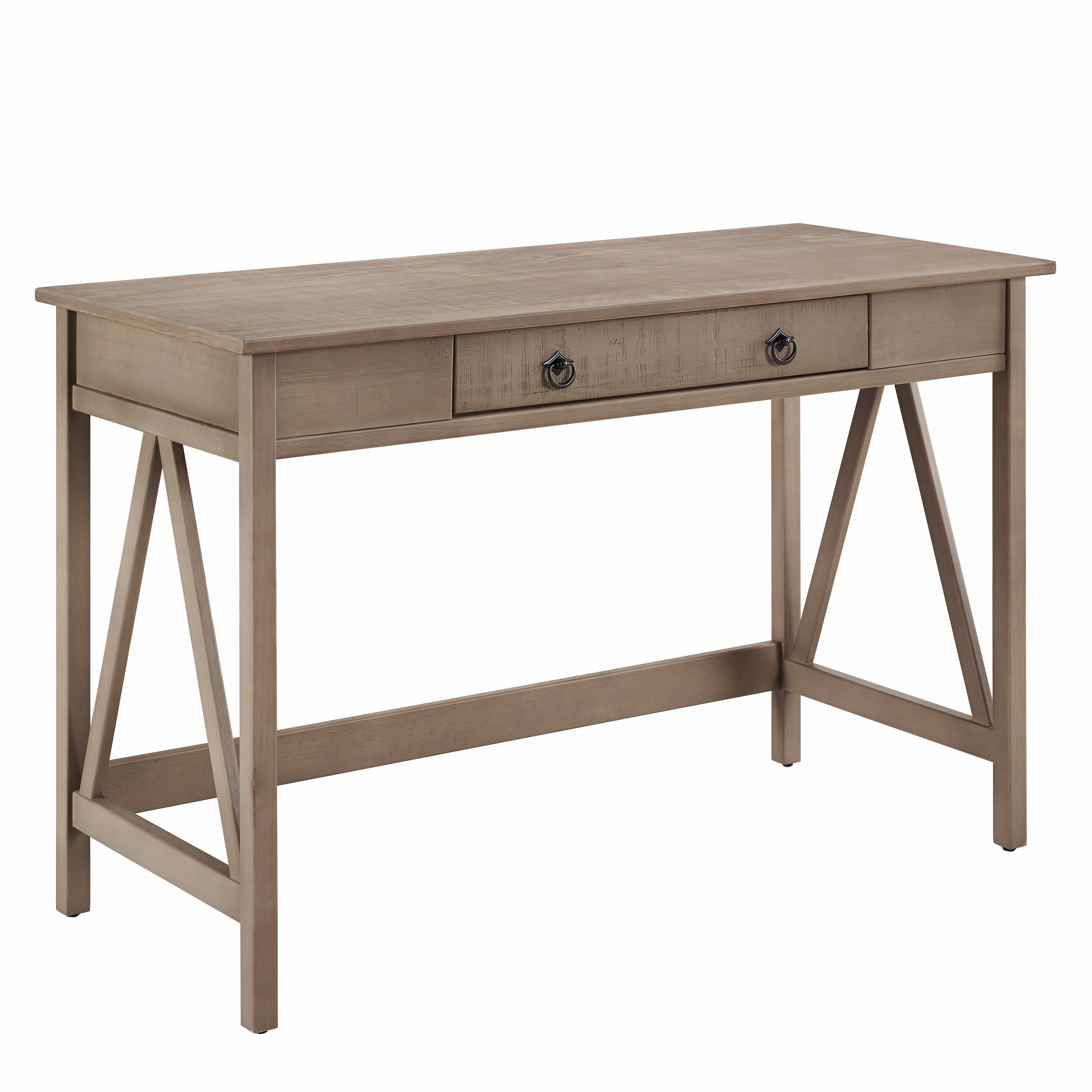 Andover Mills Saranac Writing Desk With 1 Drawer Reviews