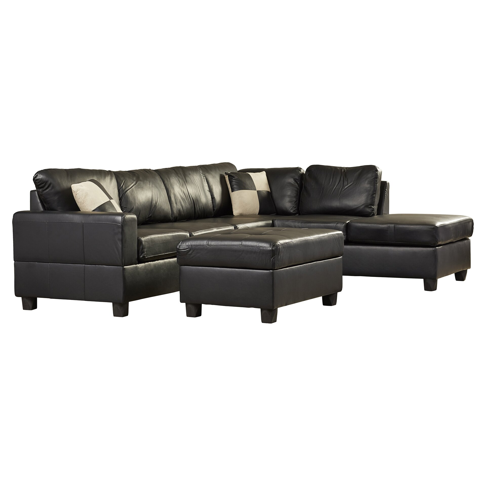 Andover Mills Corporate 5 Piece Bonded Bonded Leather