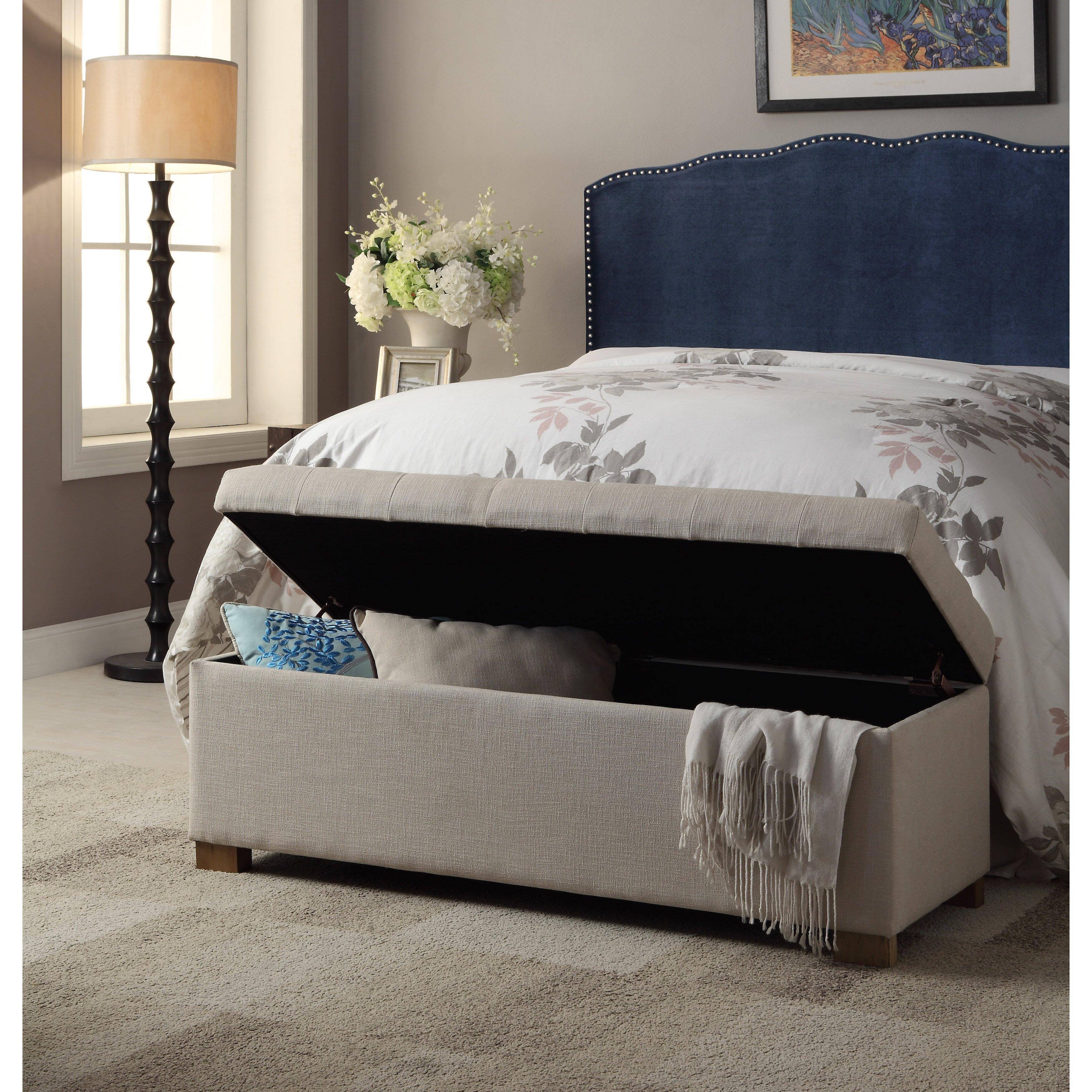 Andover Mills Ravenwood Wood Storage Bedroom Bench & Reviews