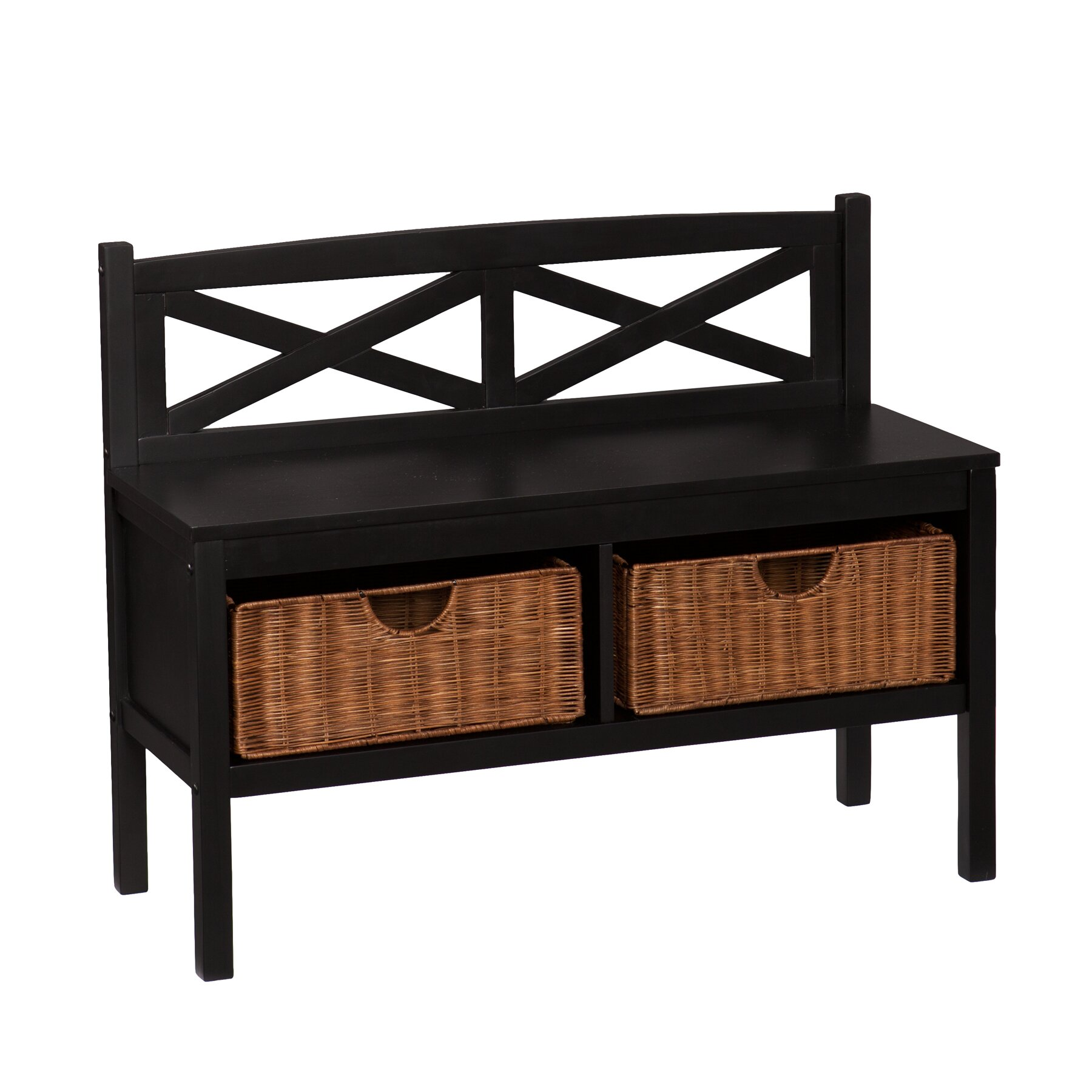 Andover Mills Wood Entryway Bench Reviews
