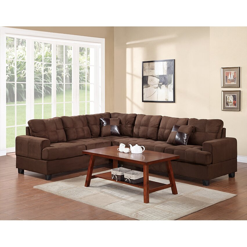 Andover Mills Birchview Reversible Sectional Reviews