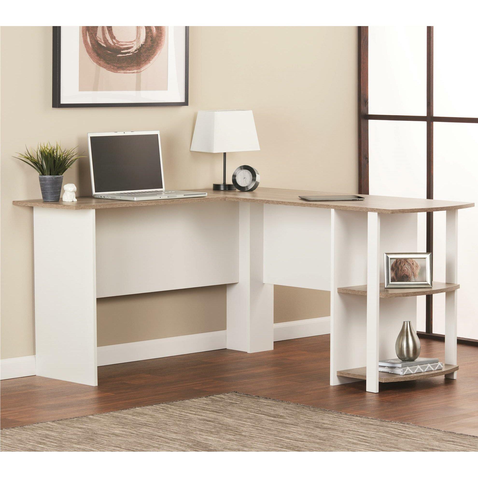 Andover Mills Salina L Shape Writing Desk Amp Reviews Wayfair