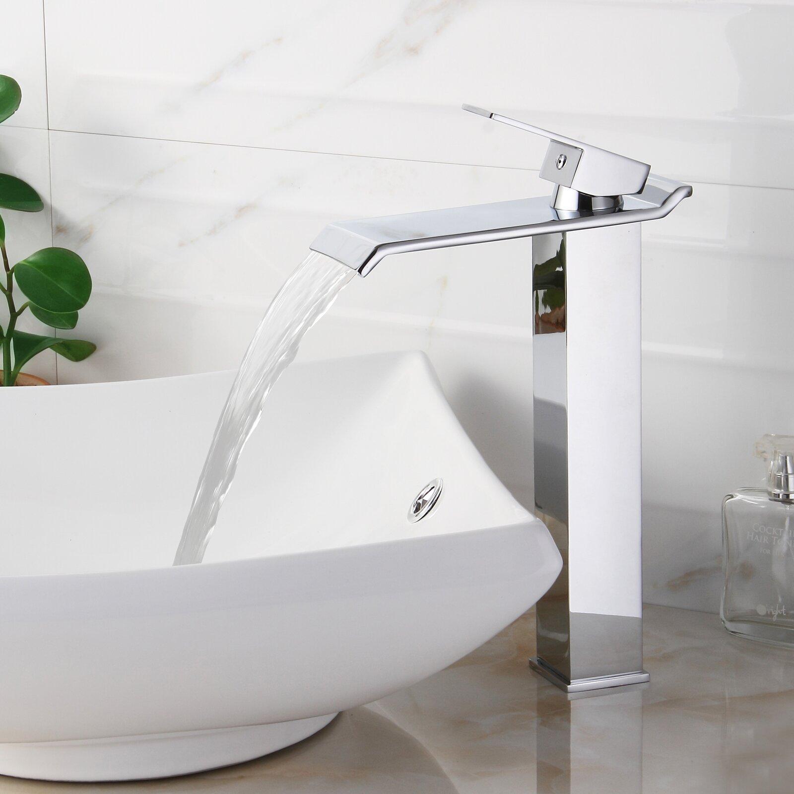 Elite Single Handle Bathroom Waterfall Faucet Reviews