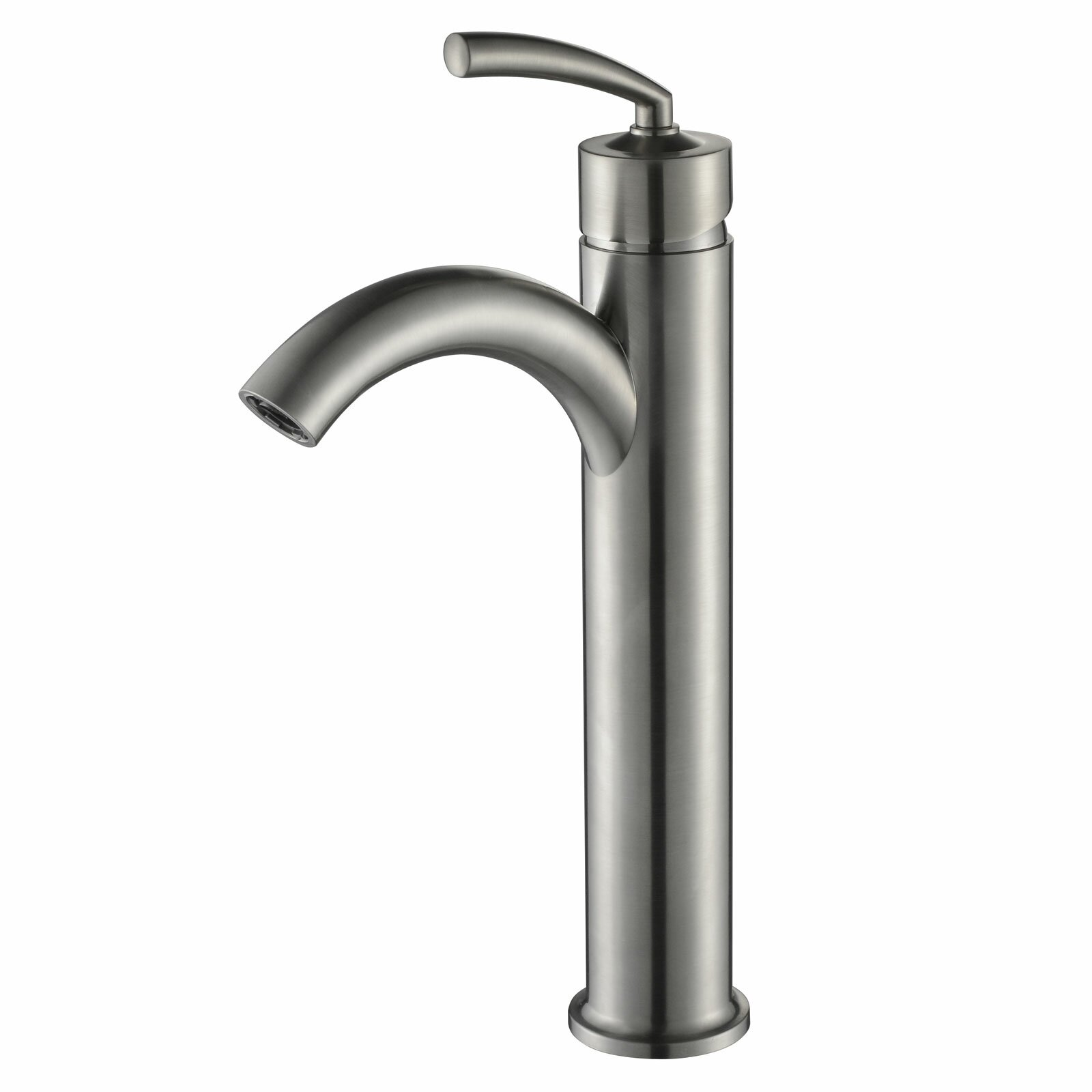 Single Lever Bathroom Faucets: Elite Single Handle Bathroom Faucet With U Arched Spout