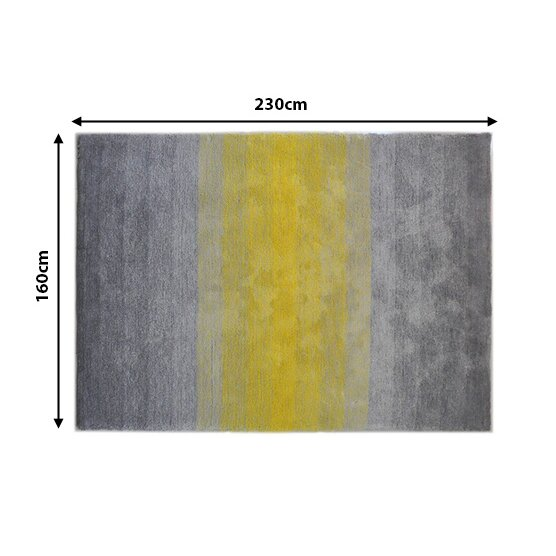 caracella teppich dinar in grau gelb. Black Bedroom Furniture Sets. Home Design Ideas
