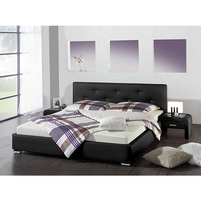 caracella polsterbett amadora mit matratze. Black Bedroom Furniture Sets. Home Design Ideas