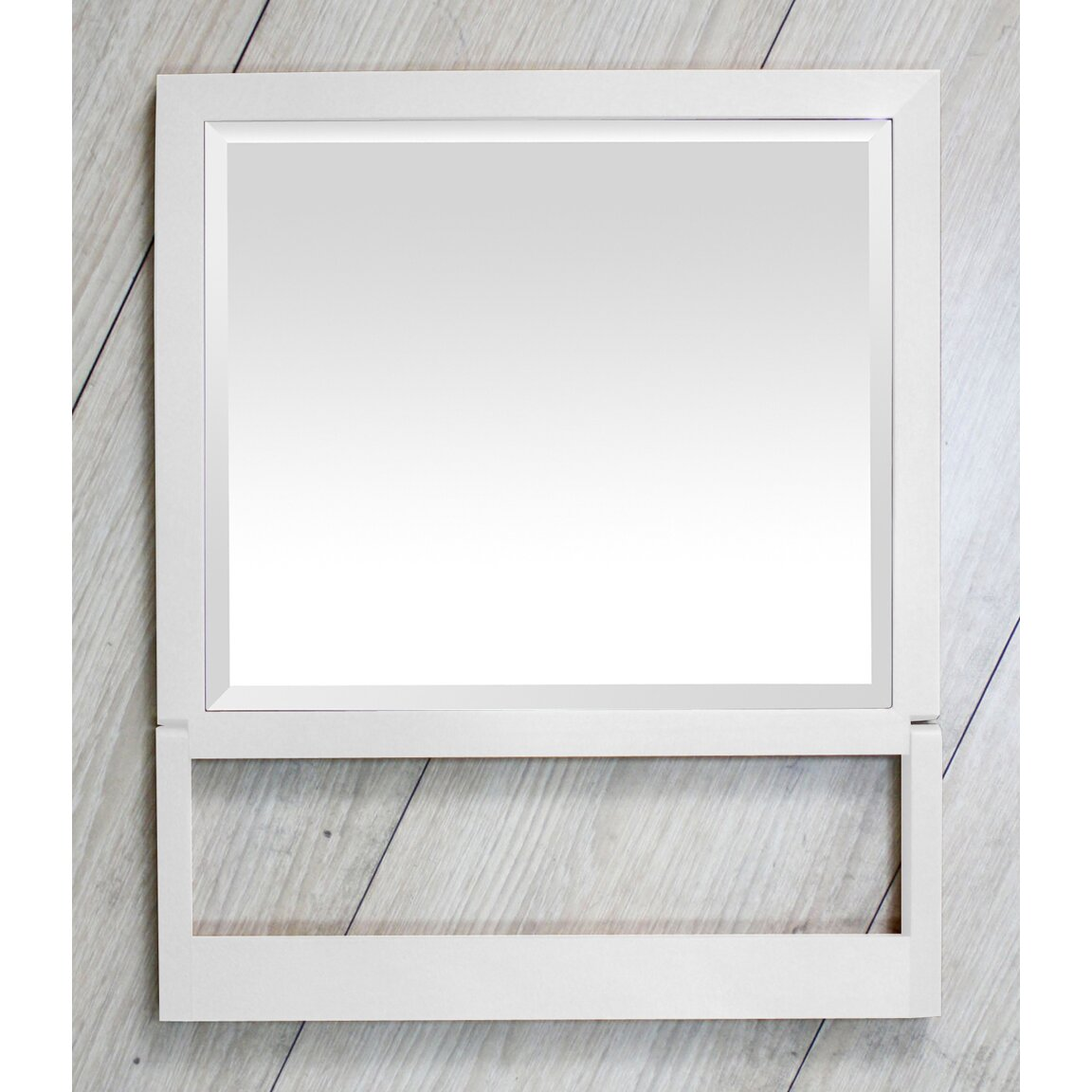 Dcor Design Free Standing Folding Bathroom Travel Mirror Reviews Wayfair Uk