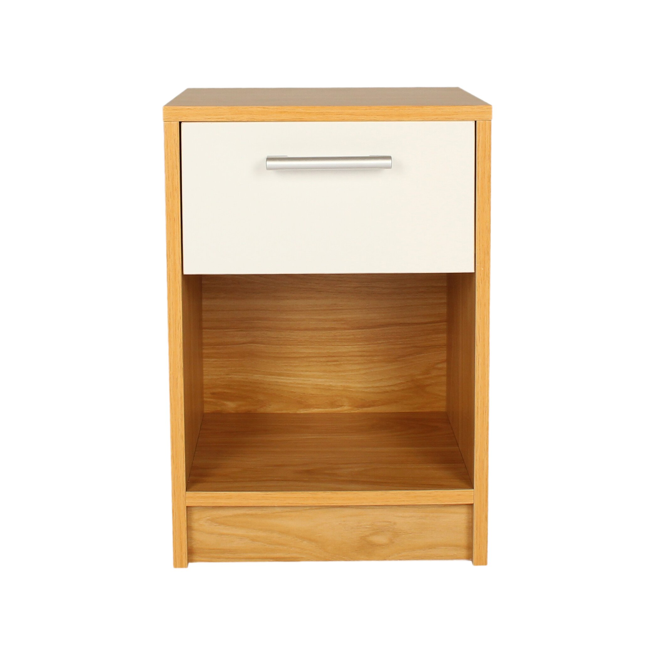 Dcor design nule 1 drawer bedside table wayfair uk for 1 drawer bedside table