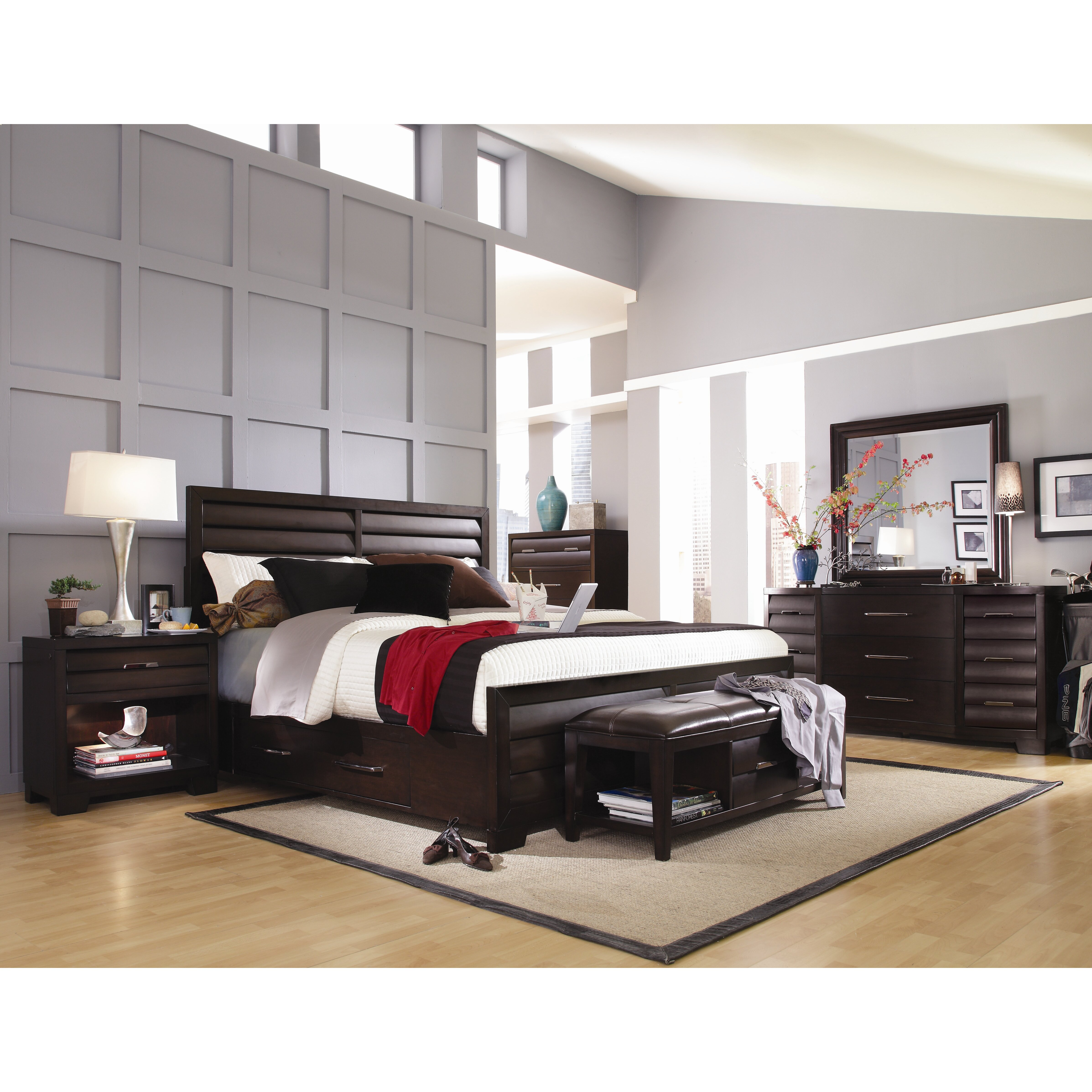 Pulaski Tangerine 330 Panel Customizable Bedroom Set