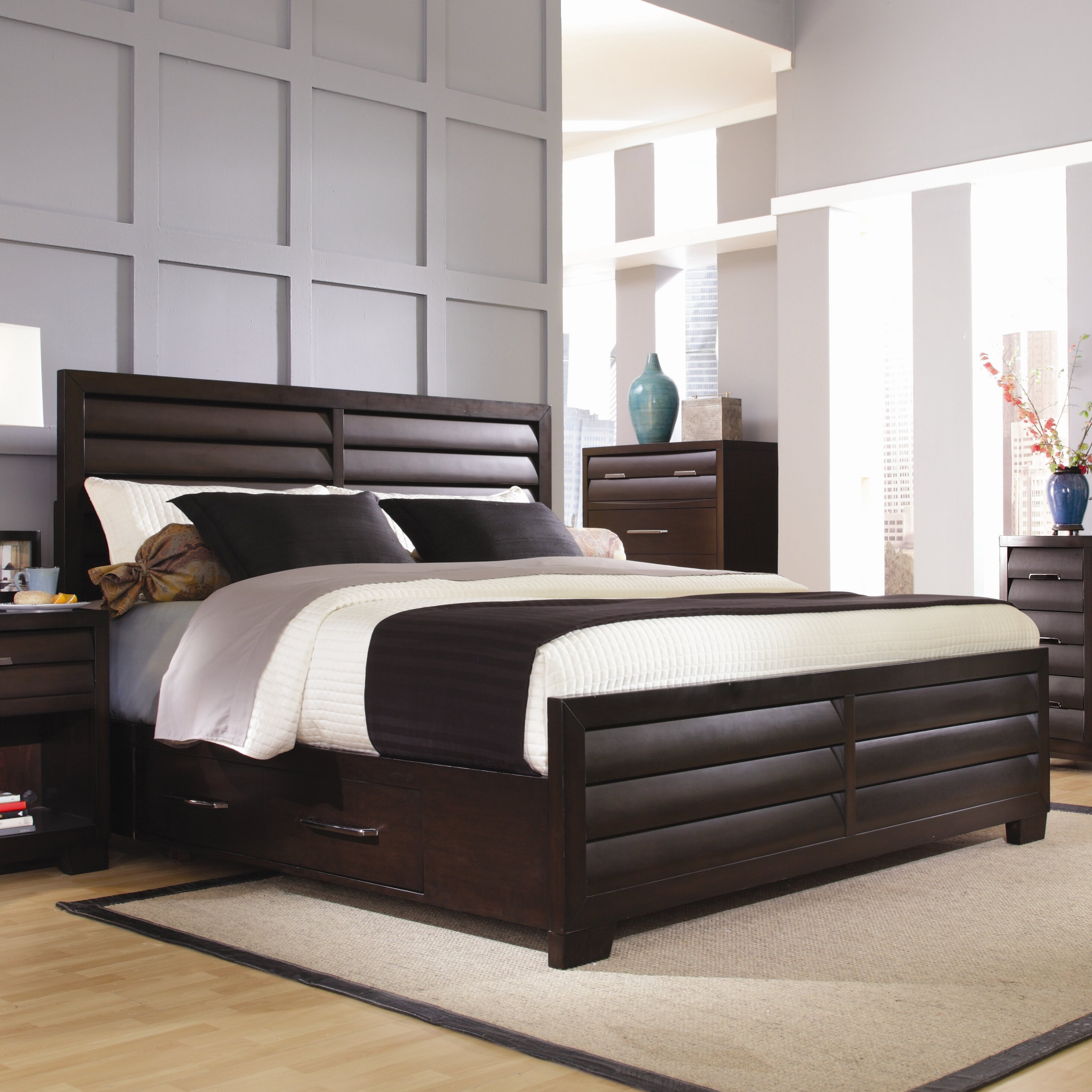 Pulaski Tangerine 330 Panel Customizable Bedroom Set