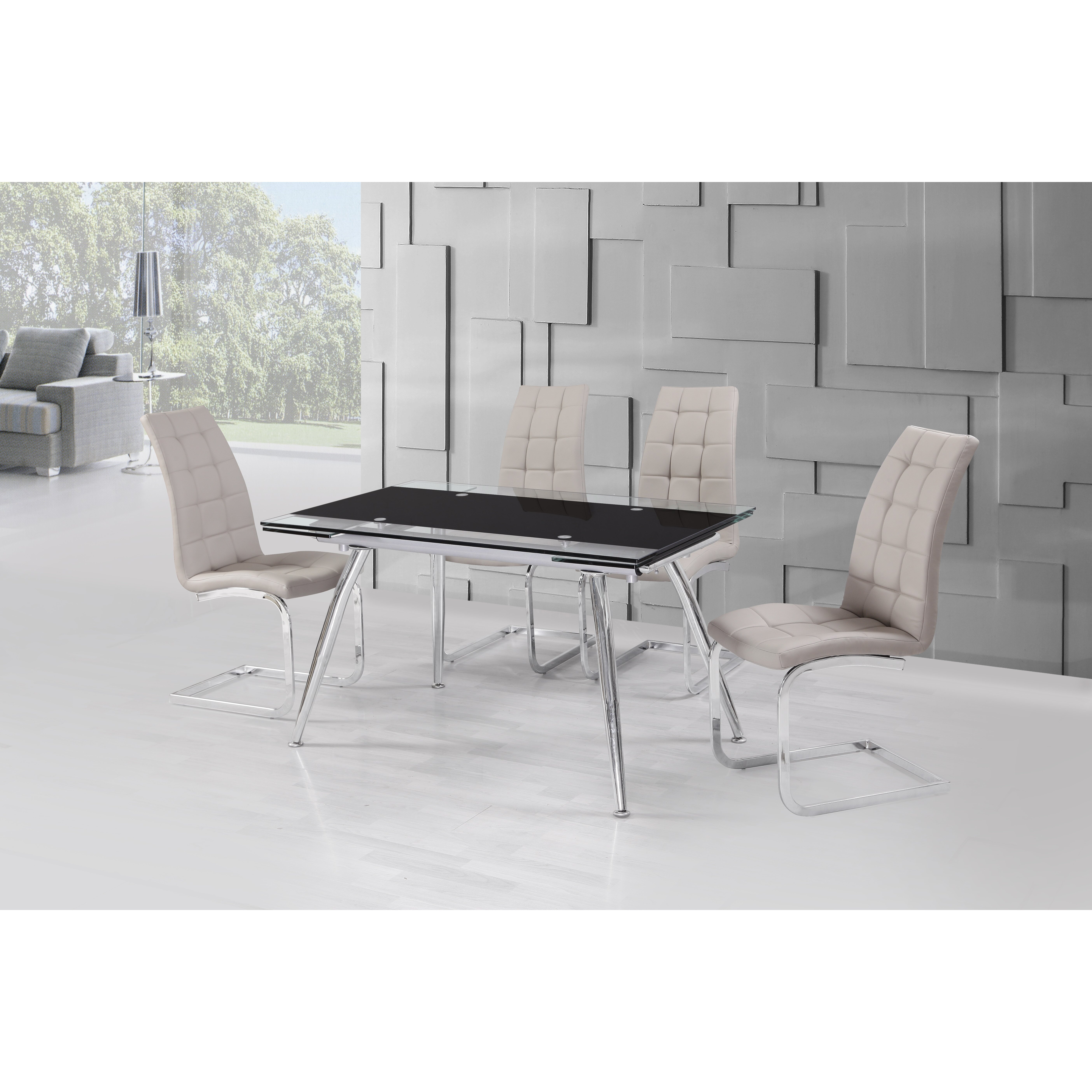 Urban Designs Micha Extendable Dining Table amp Reviews  : Urban Designs Micha Extendable Dining Table from www.wayfair.co.uk size 5616 x 5616 jpeg 3336kB