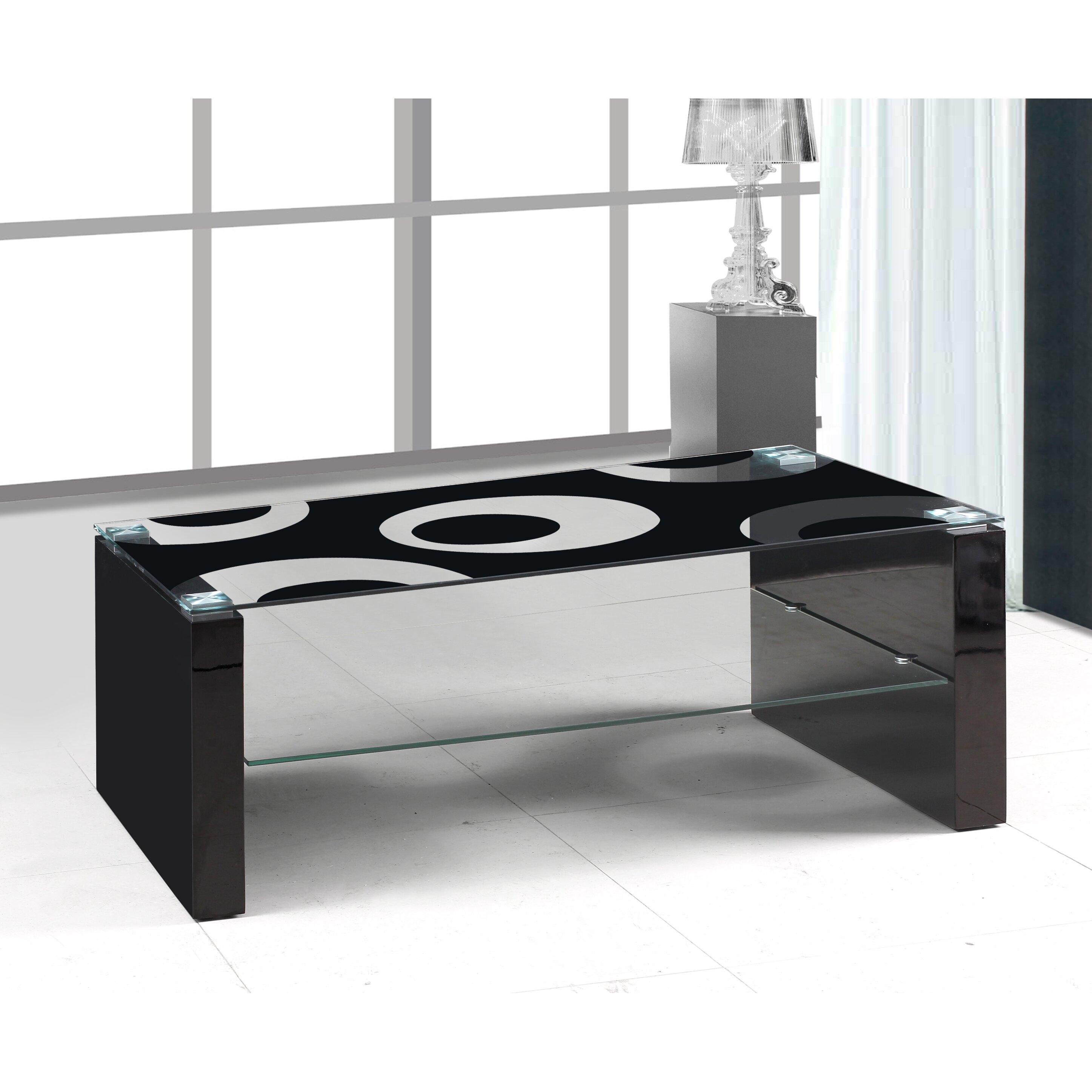 Wayfair Glass Coffee Table Uk: Urban Designs Coffee Table With Magazine Rack & Reviews
