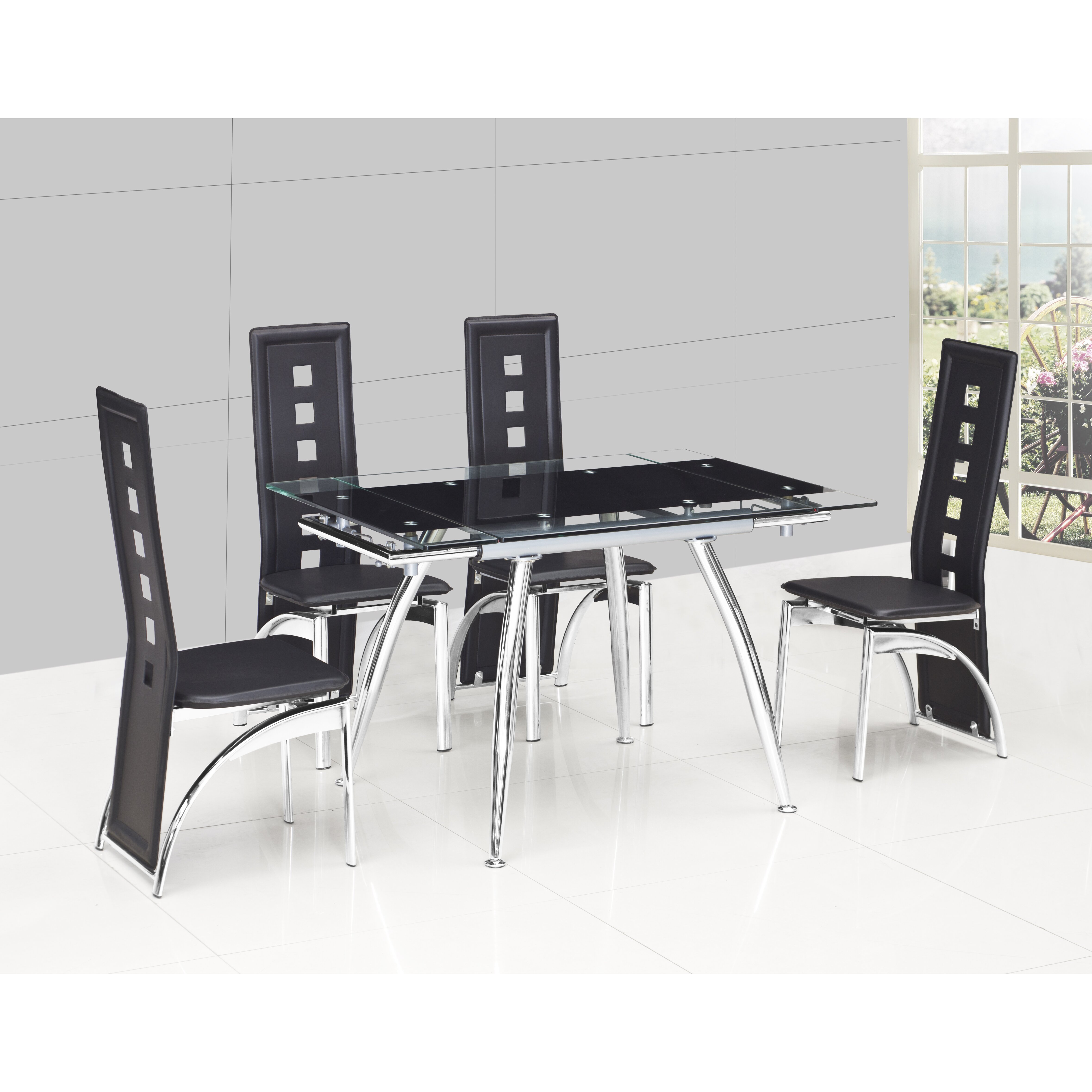 Urban Designs Micha Extendable Dining Table amp Reviews  : Urban Designs Micha Extendable Dining Table from www.wayfair.co.uk size 4718 x 4718 jpeg 1566kB