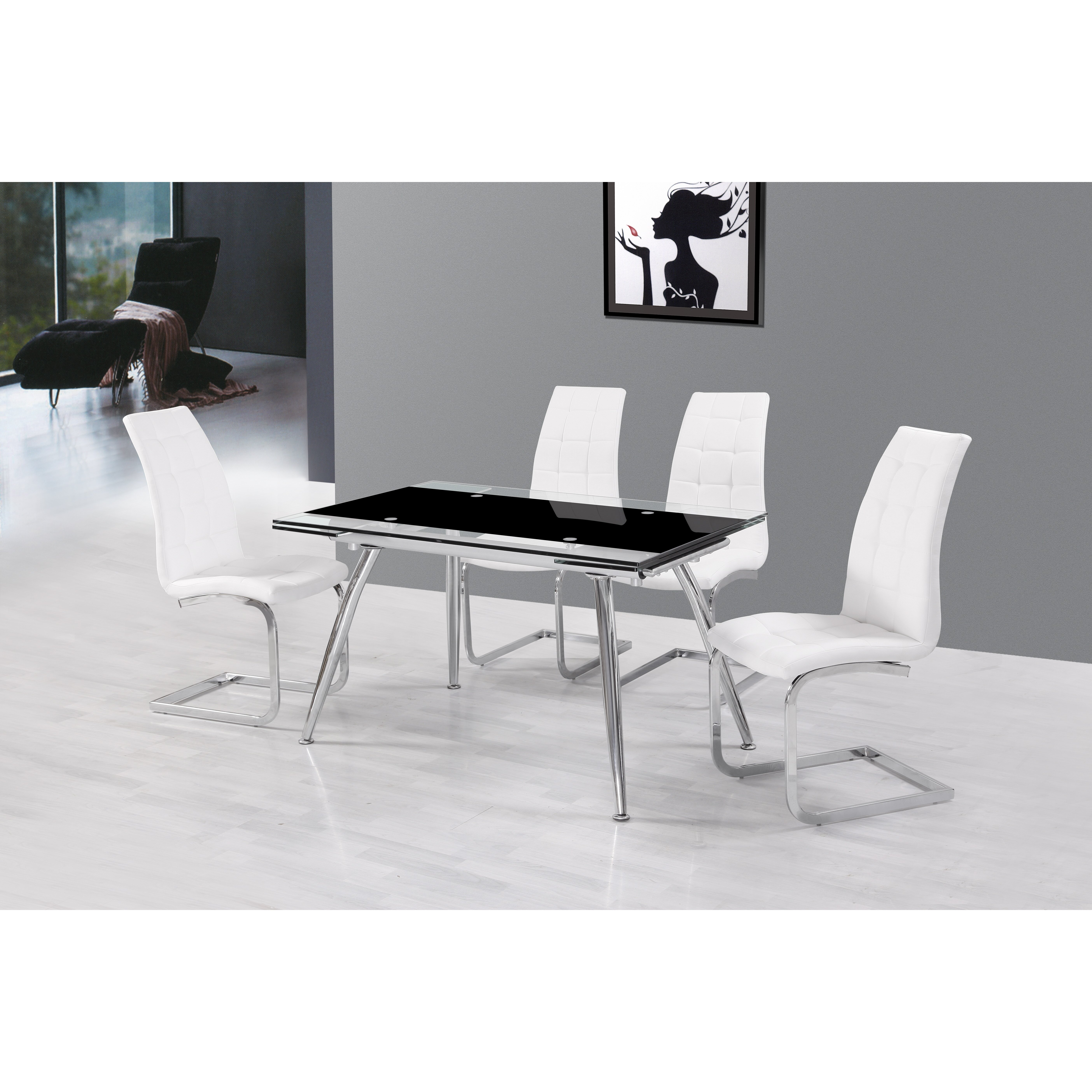 Urban Designs Micha Extendable Dining Table amp Reviews  : Urban Designs Micha Extendable Dining Table from www.wayfair.co.uk size 5616 x 5616 jpeg 3479kB