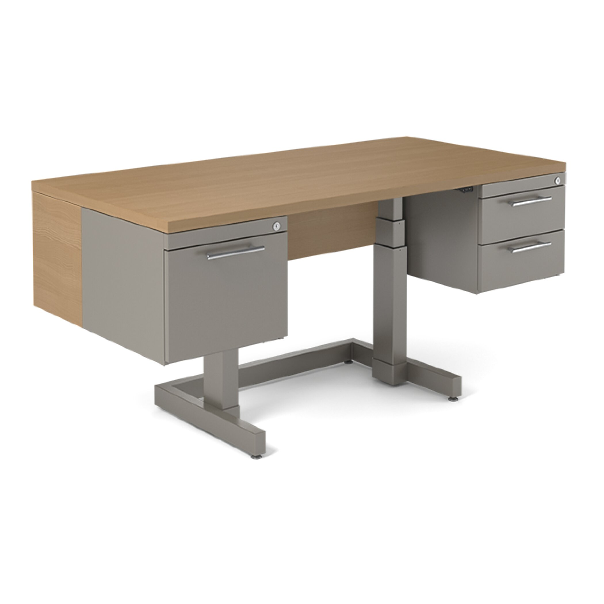 BOLD Furniture One Standing Desk with Metal Leg amp Reviews