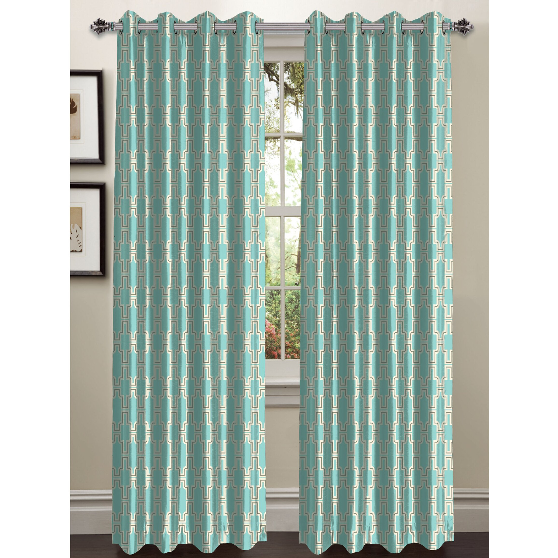 Window Elements Wesley Extra Wide Grommet Curtain Panels