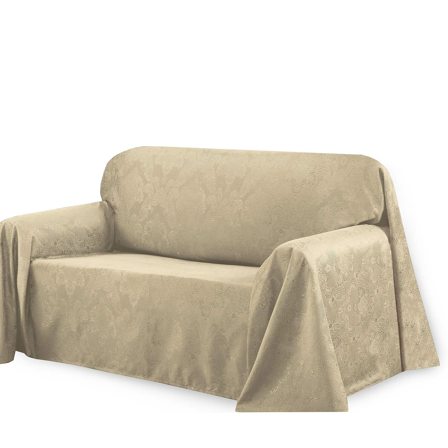 Bella Luna Medallion Loveseat Slip Cover Reviews Wayfair