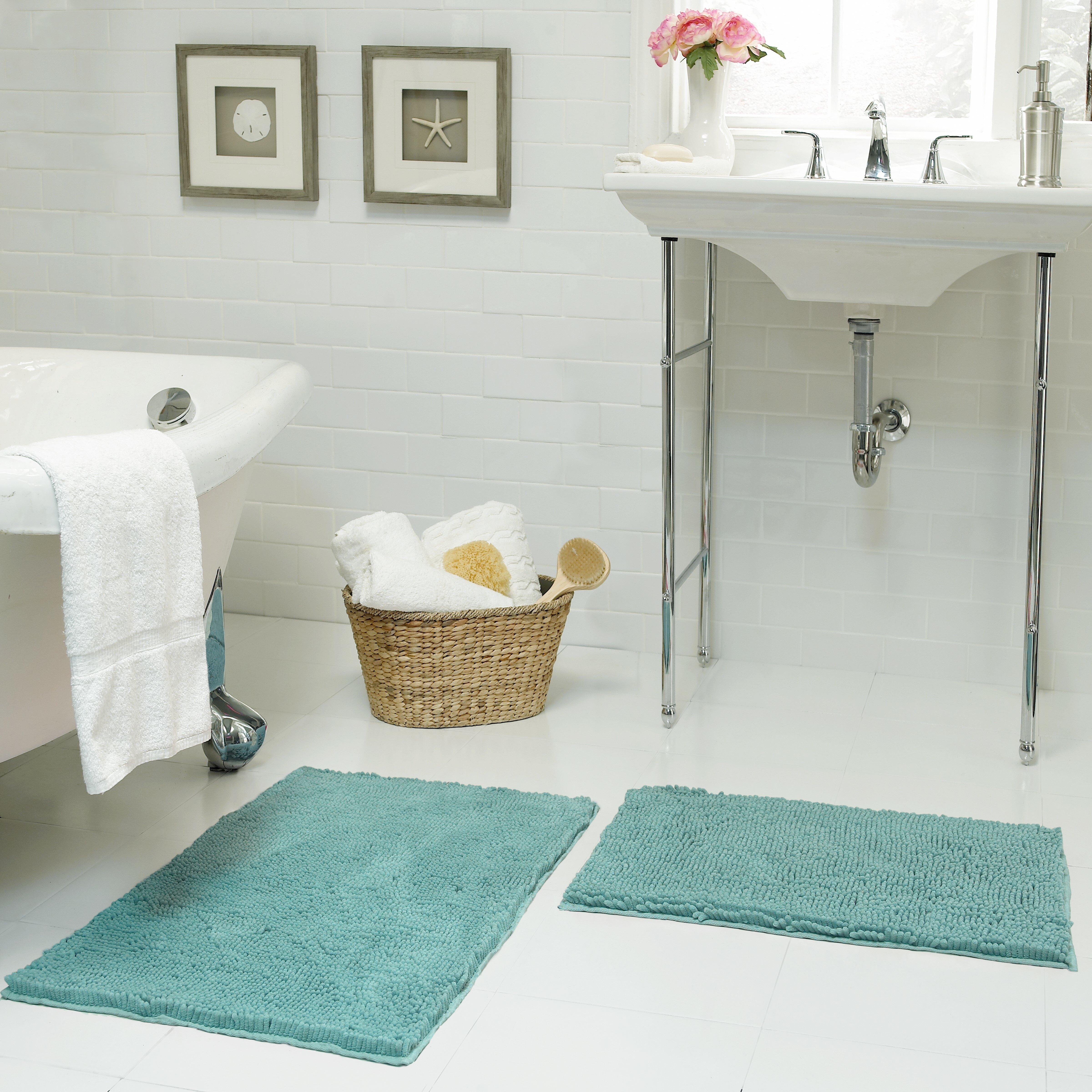 Resort Collection Chenille Plush Bath Mat & Reviews