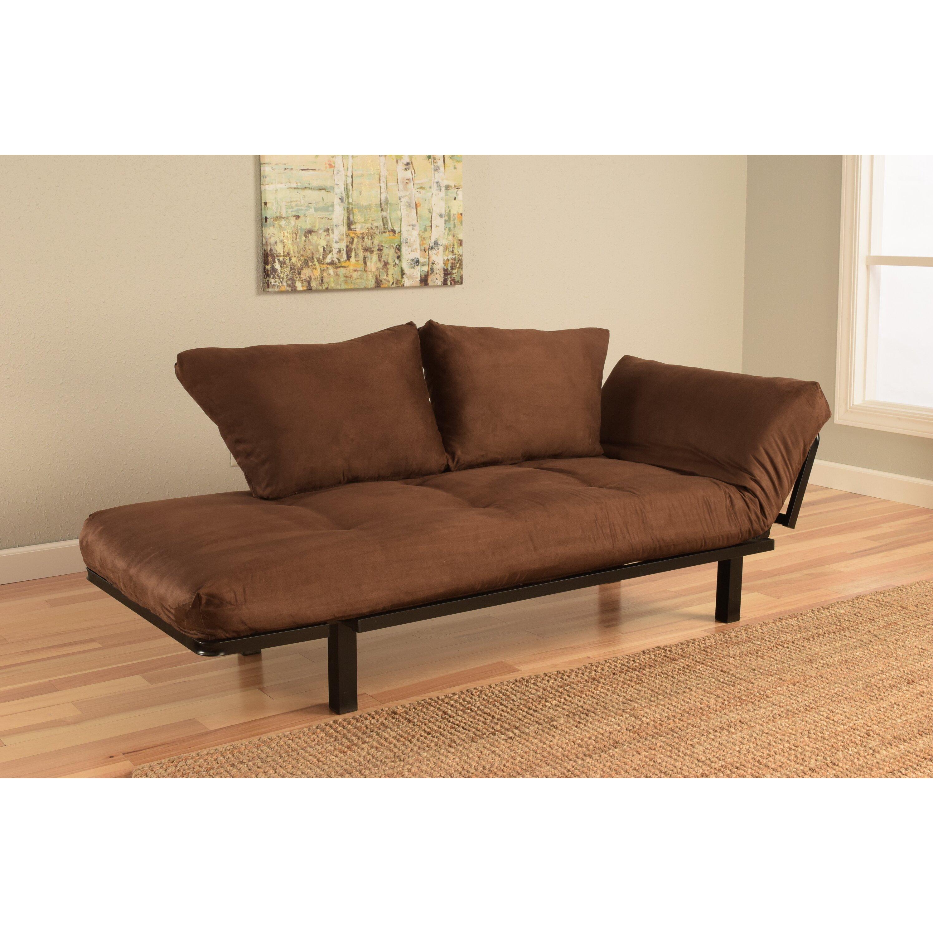 Kodiak furniture spacely convertible futon lounger for Sofa convertible 2 places