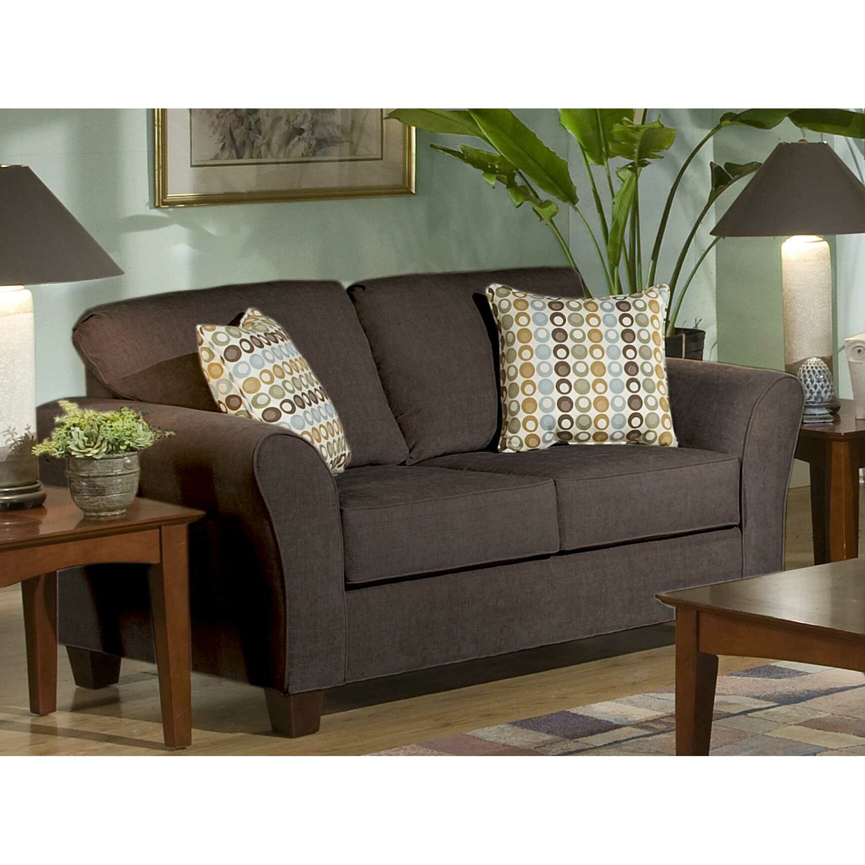Three Posts Serta Upholstery Franklin Loveseat Reviews Wayfair