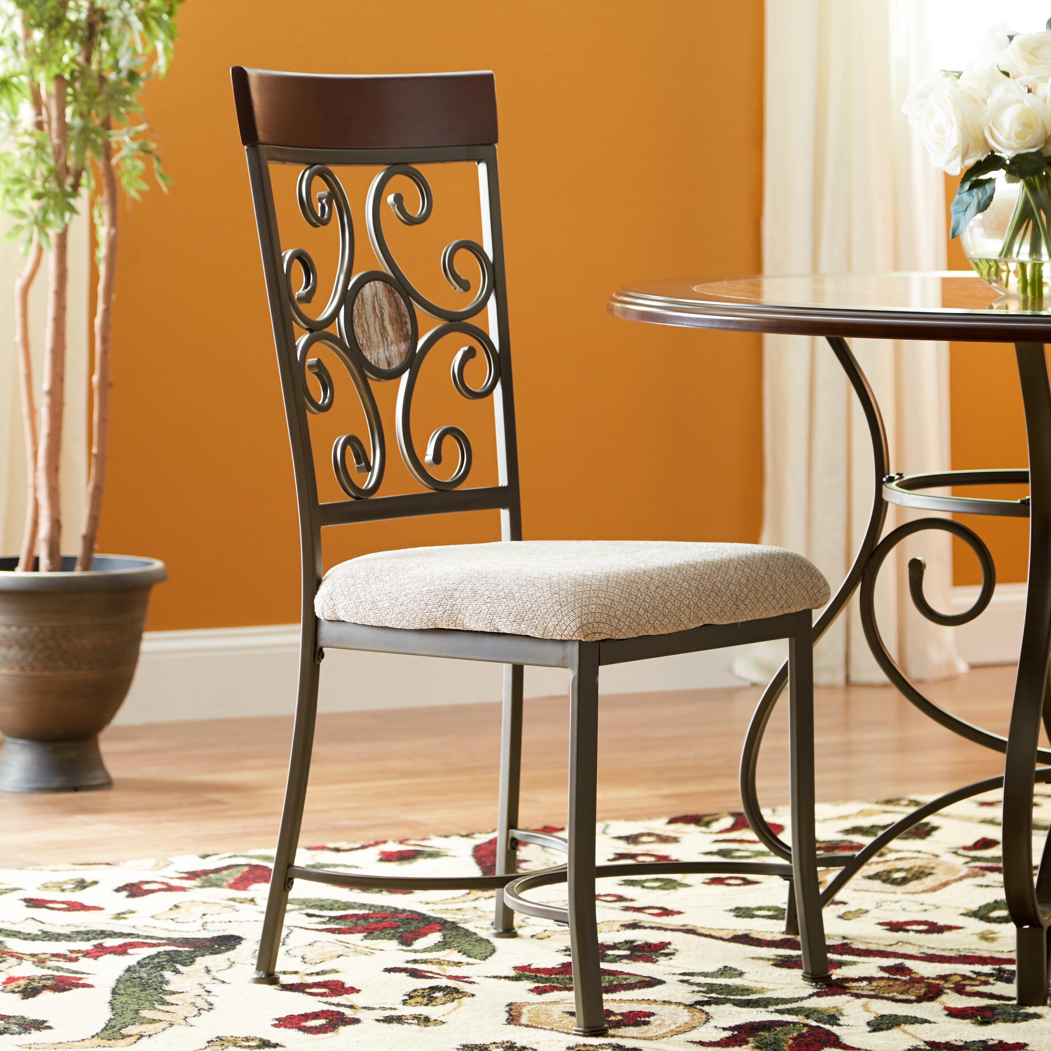 new black metal dining room chairs brennan rustic metal