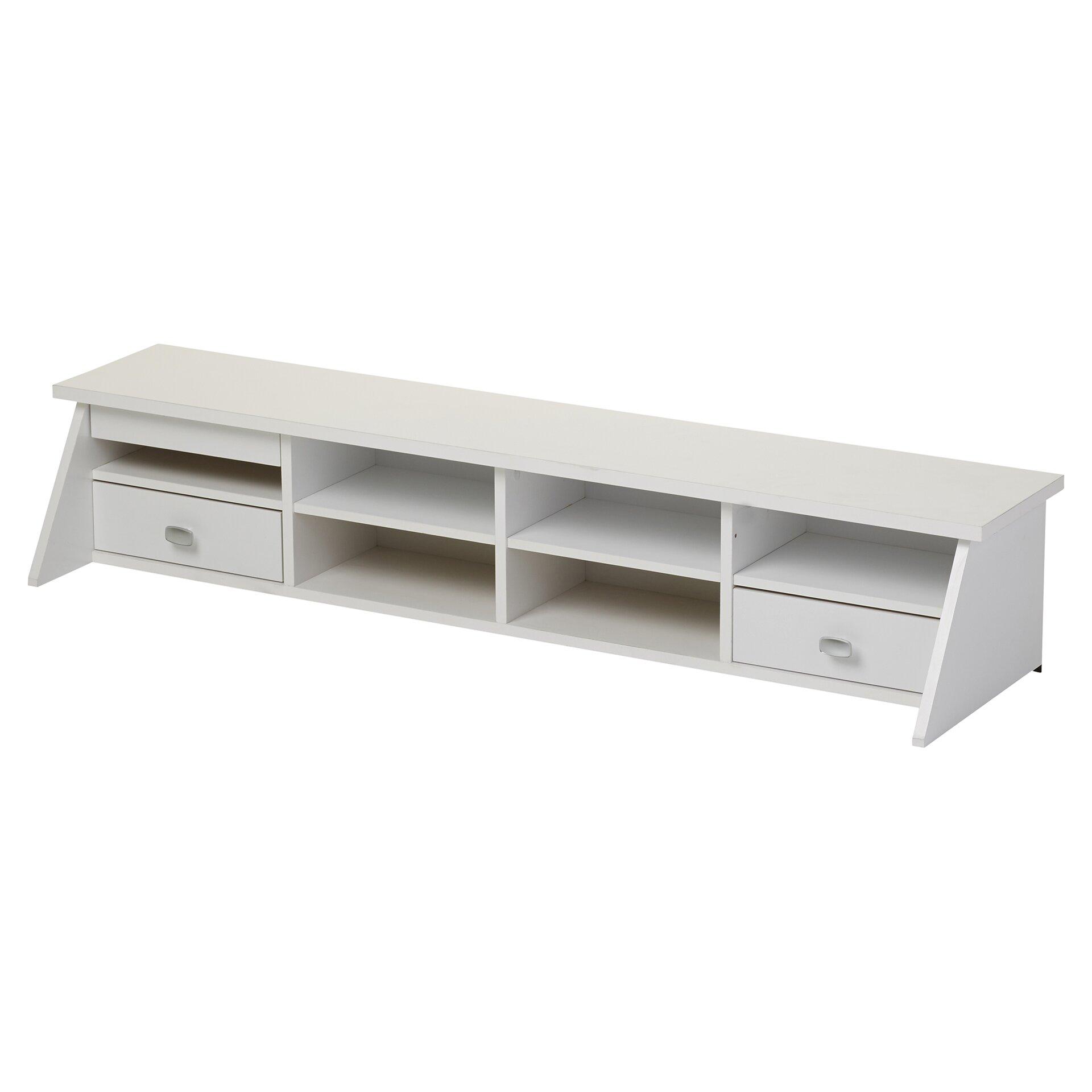 Three Posts Ackerson Open Storage Desk Set Amp Reviews Wayfair