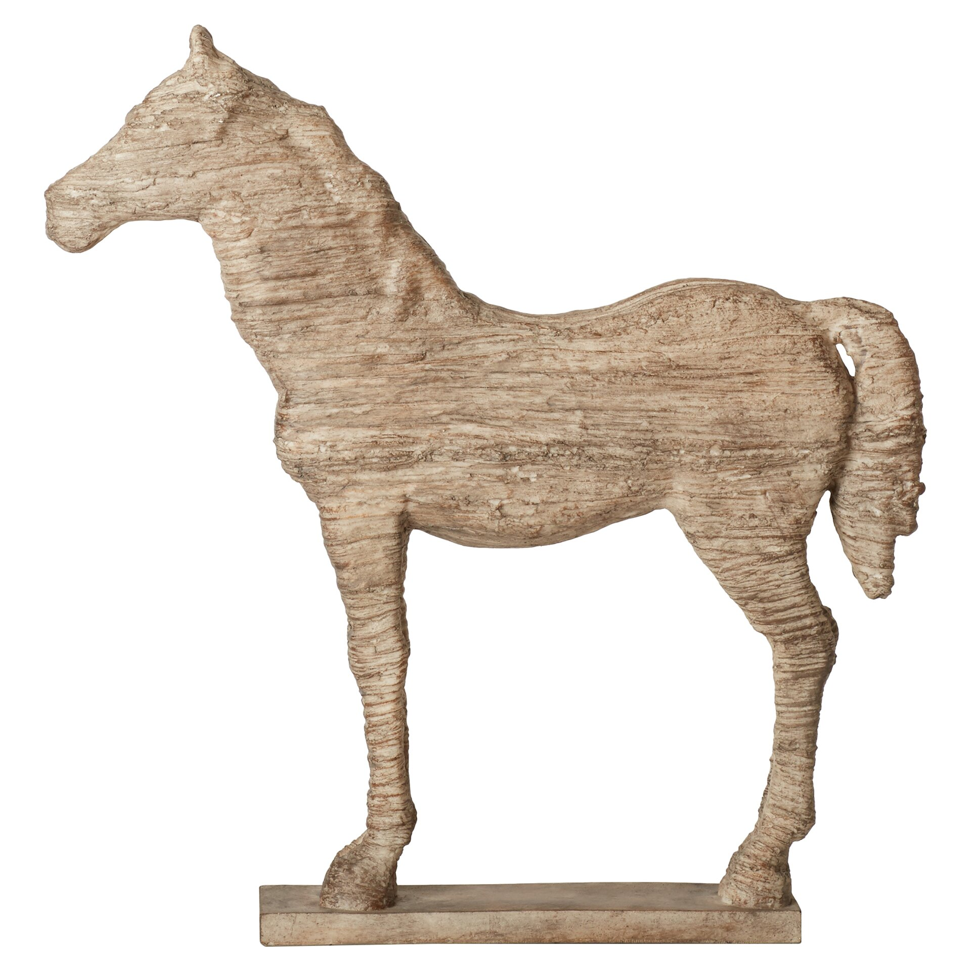 Three posts wesley horse table decor statue reviews wayfair - Statue decorative interieur ...
