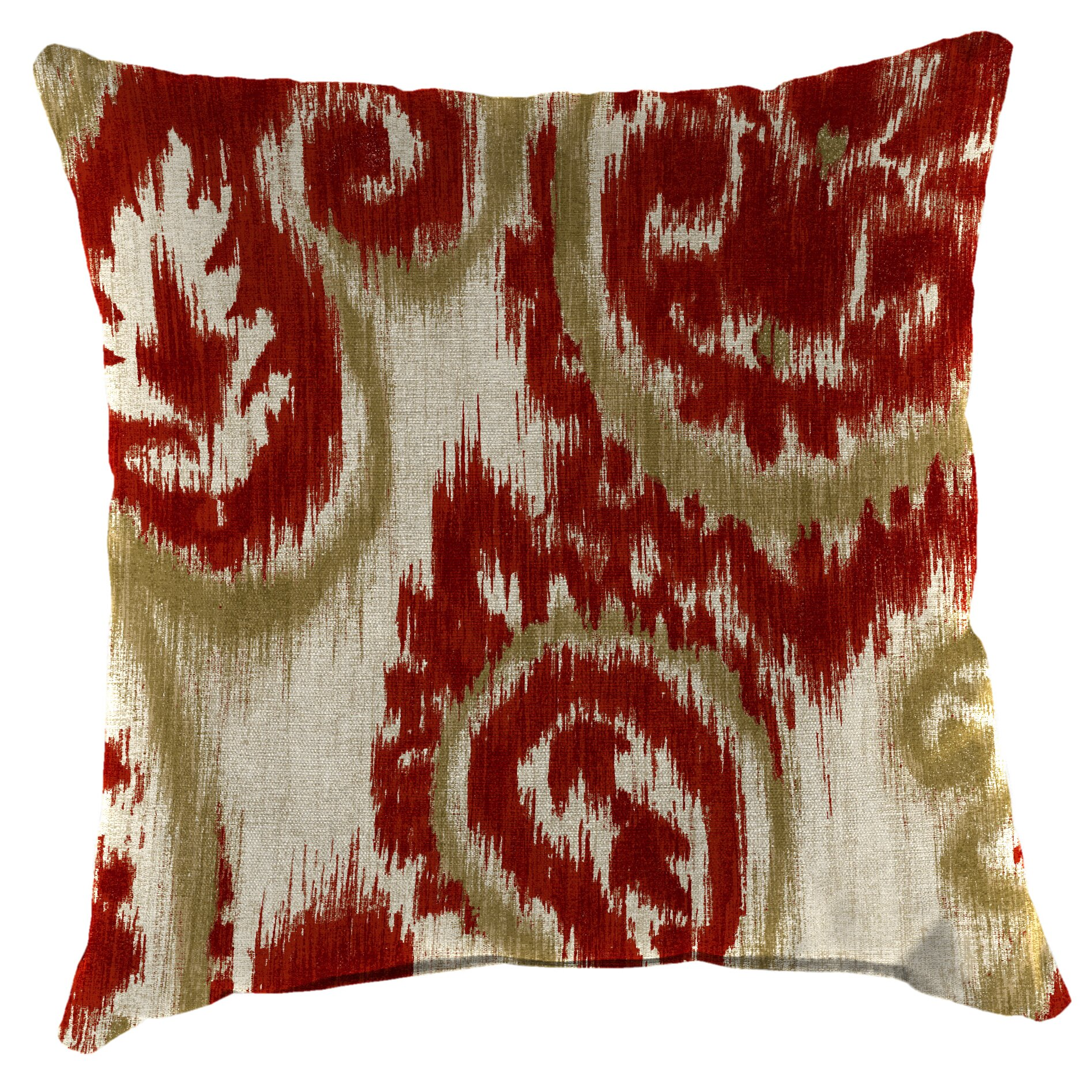 Three Posts Paisley Indoor/Outdoor Throw Pillow & Reviews Wayfair