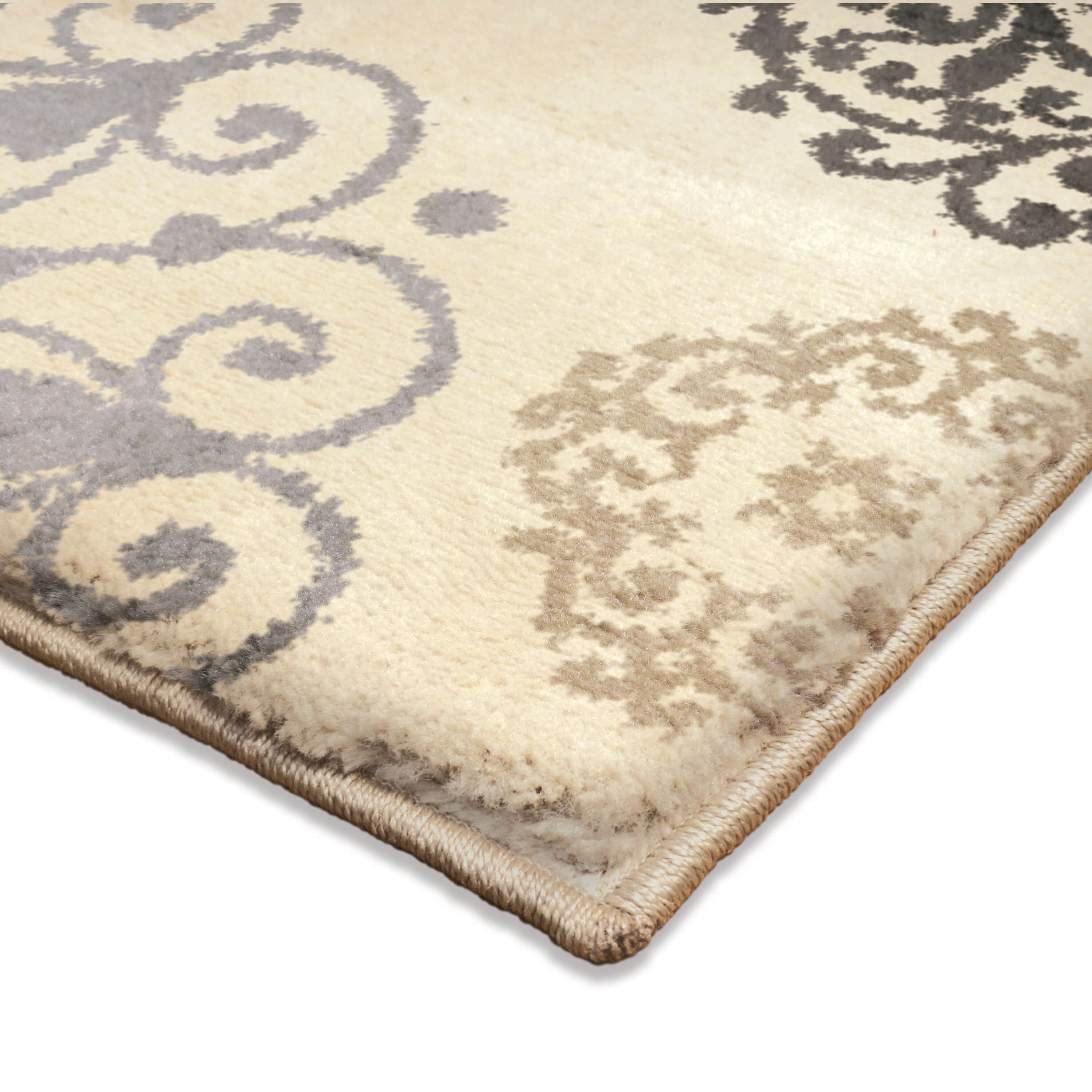 Three Posts Ivory Area Rug u0026 Reviews : Wayfair Supply