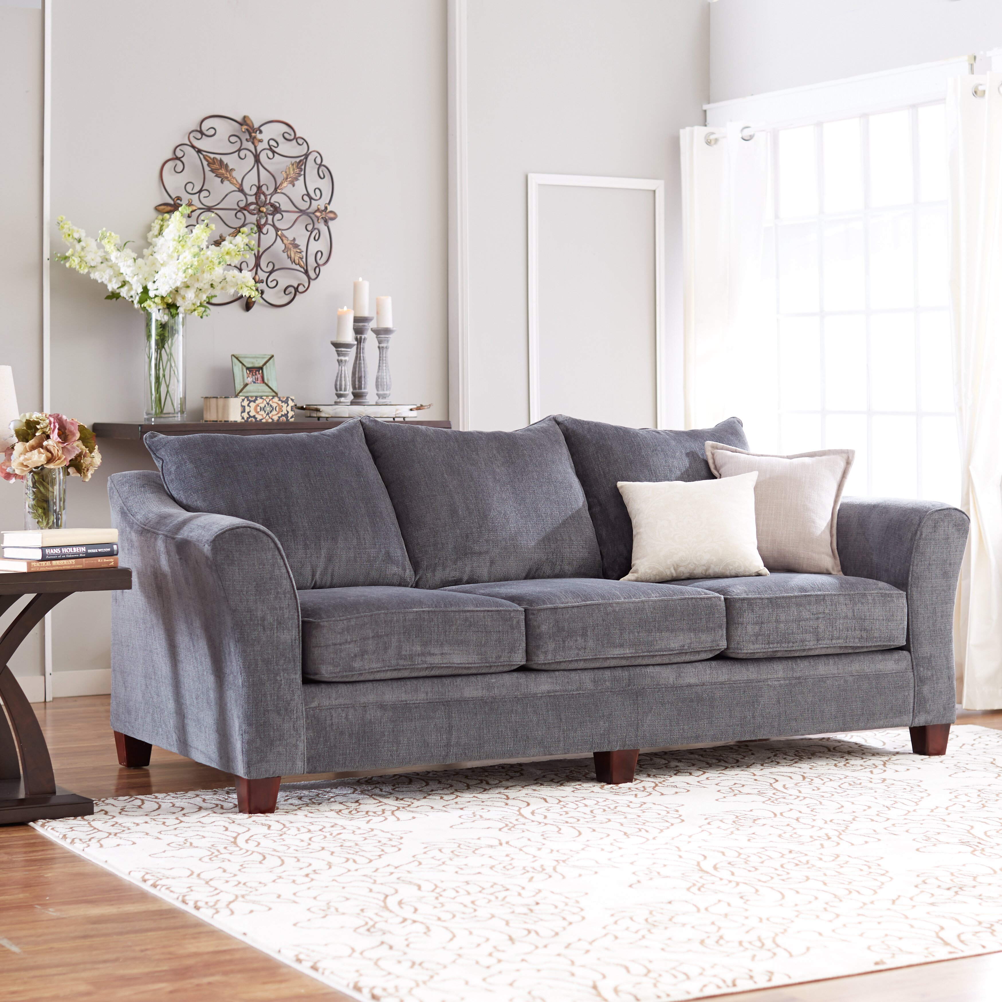Three Posts Simmons Upholstery Derry Sofa & Reviews