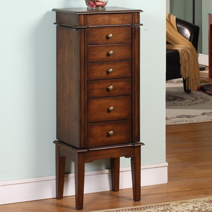 Three posts maplewood six drawer jewelry armoire reviews