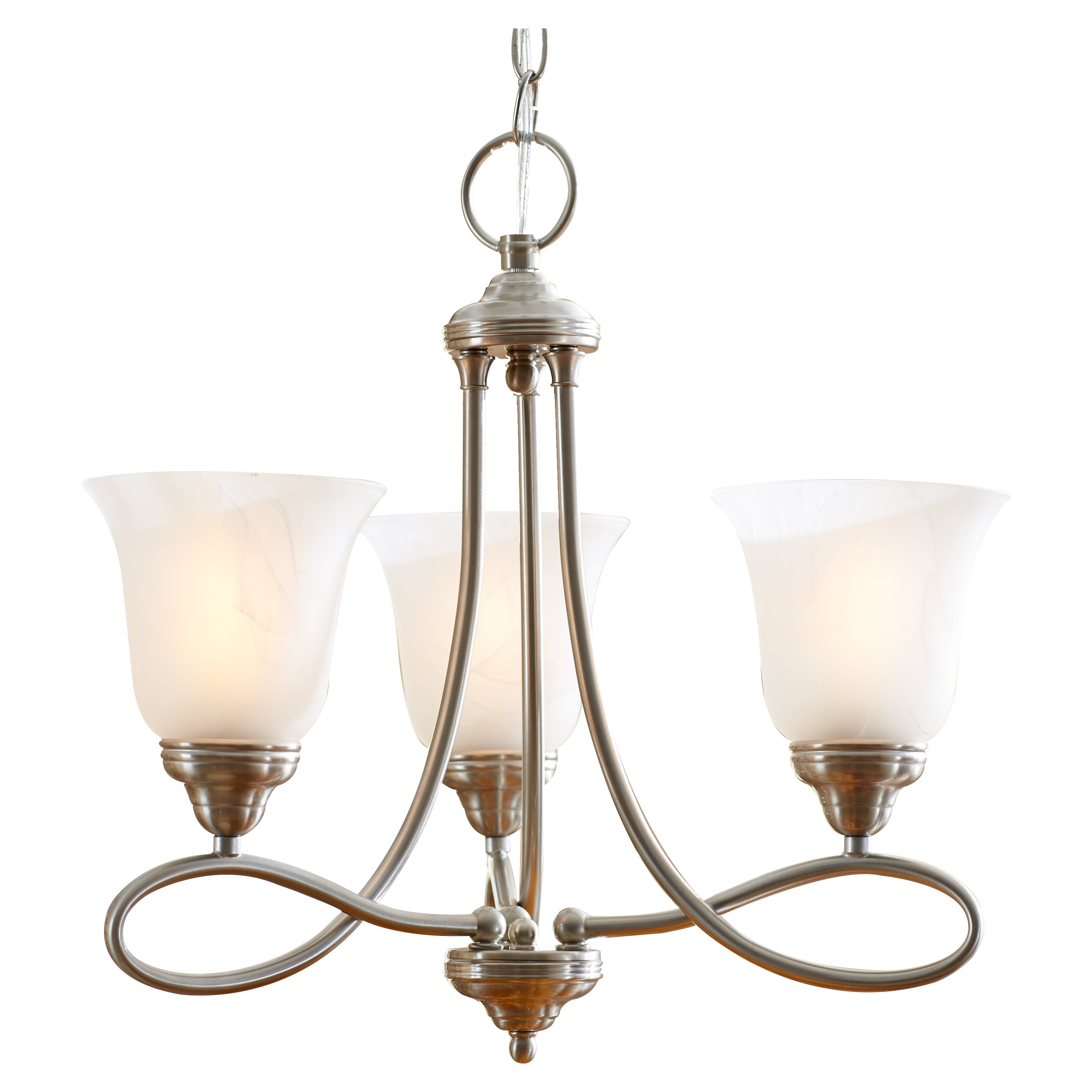 Three Posts Norwood 3 Light Mini Chandelier & Reviews