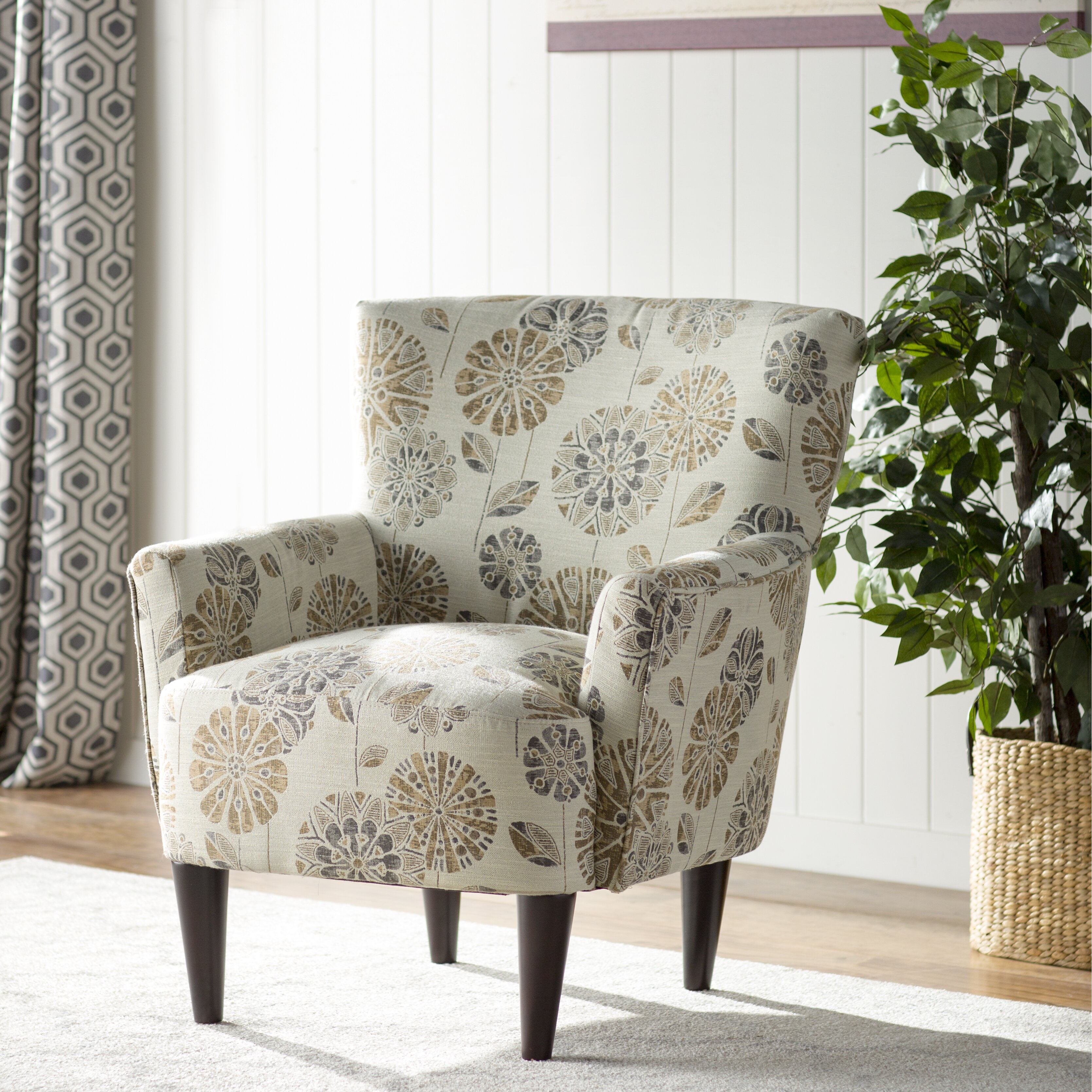 Three Posts Hyde Park Madison Arm Chair Amp Reviews Wayfair