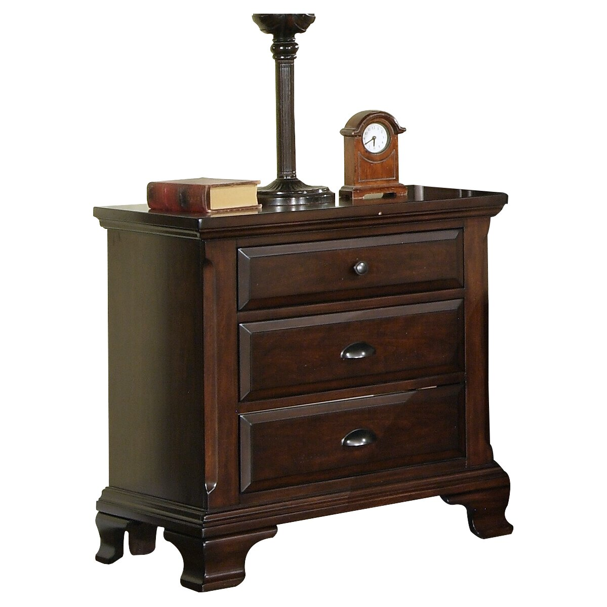 Three Posts Plattsburgh 3 Drawer Nightstand Amp Reviews