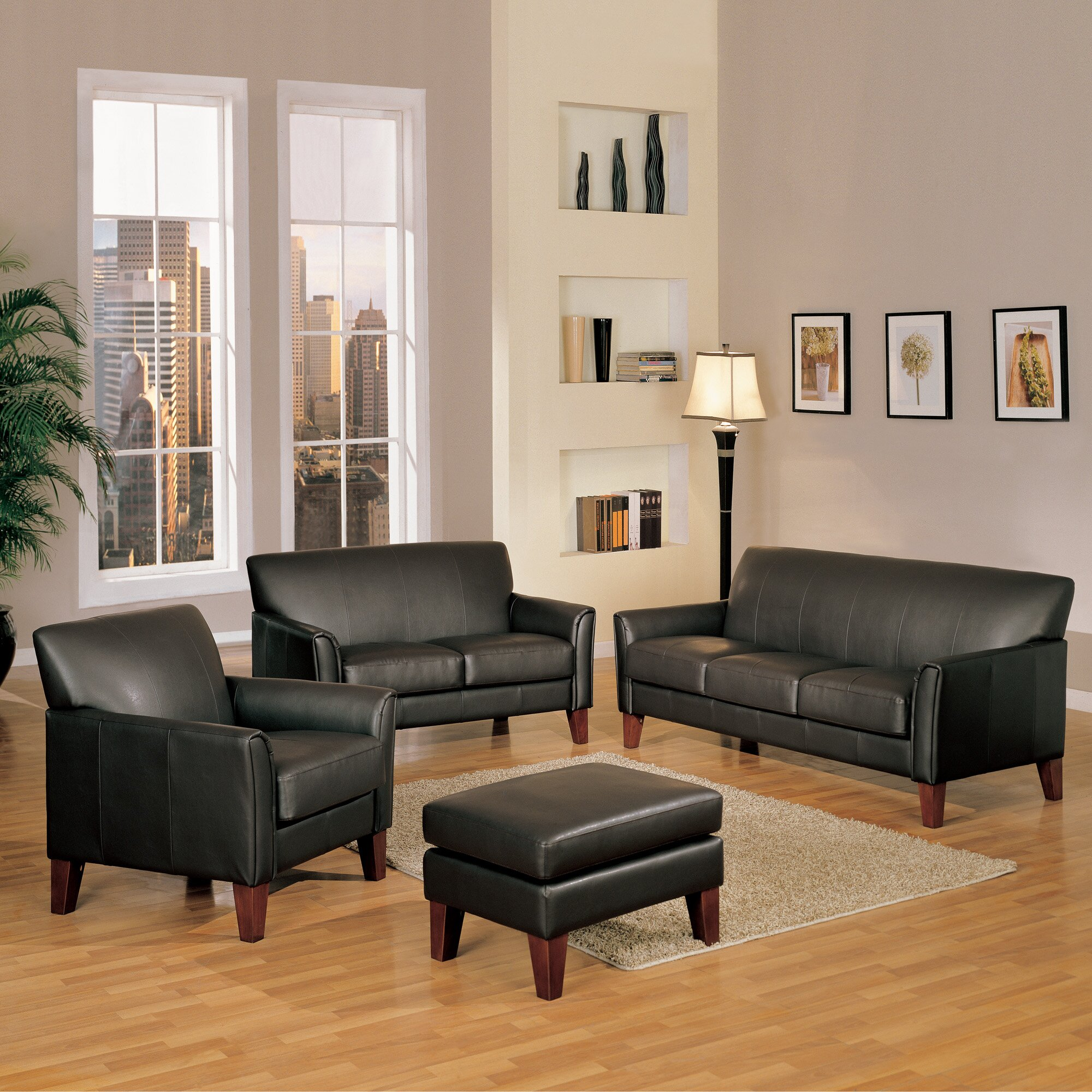 Three posts clintonville 4 piece living room set reviews for 4 piece living room set