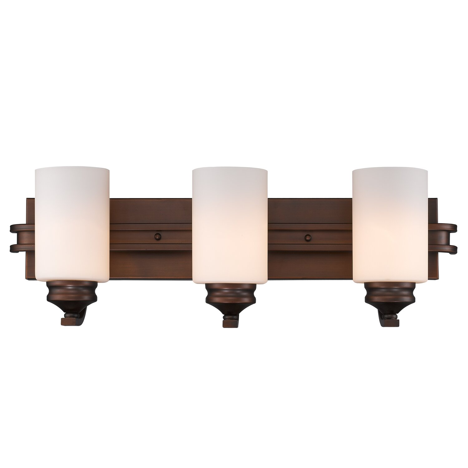 Three Posts Russell Farm 3 Light Bath Vanity Light & Reviews
