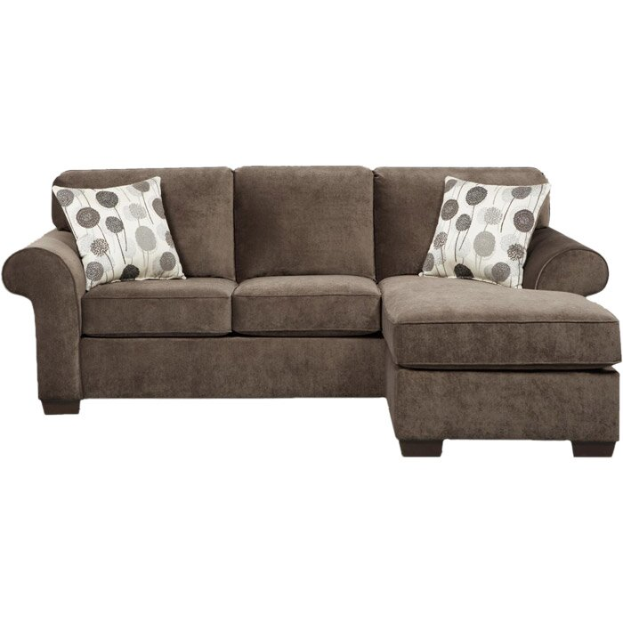 Three Posts Columbus Reversible Chaise Sectional Reviews Wayfair