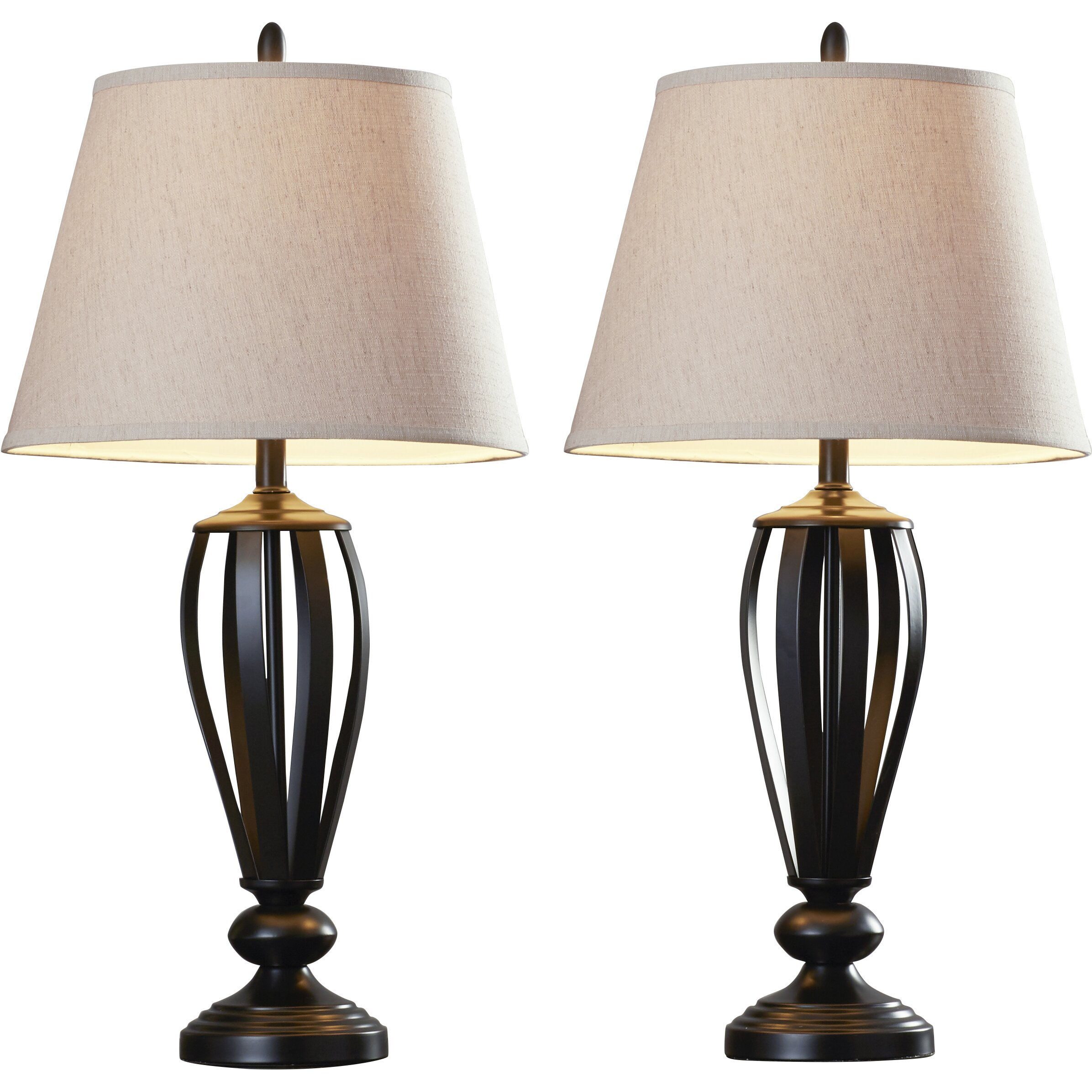 three posts gainseville 29 6 table lamps reviews wayfair. Black Bedroom Furniture Sets. Home Design Ideas