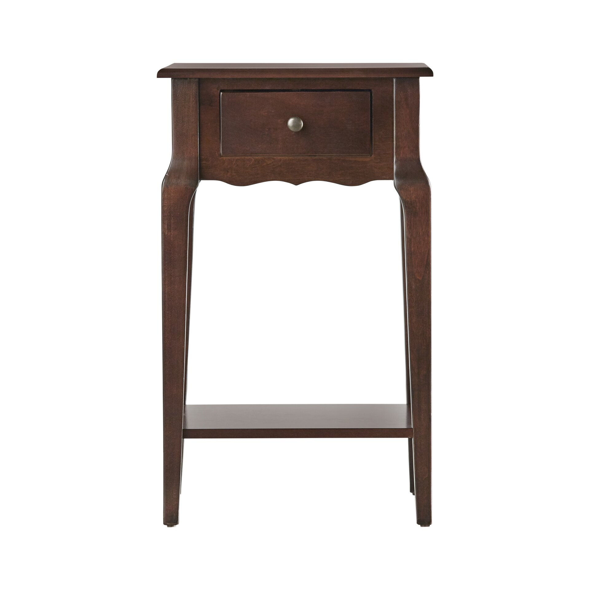 Three posts daltrey 1 drawer end table reviews wayfair for 1 drawer table