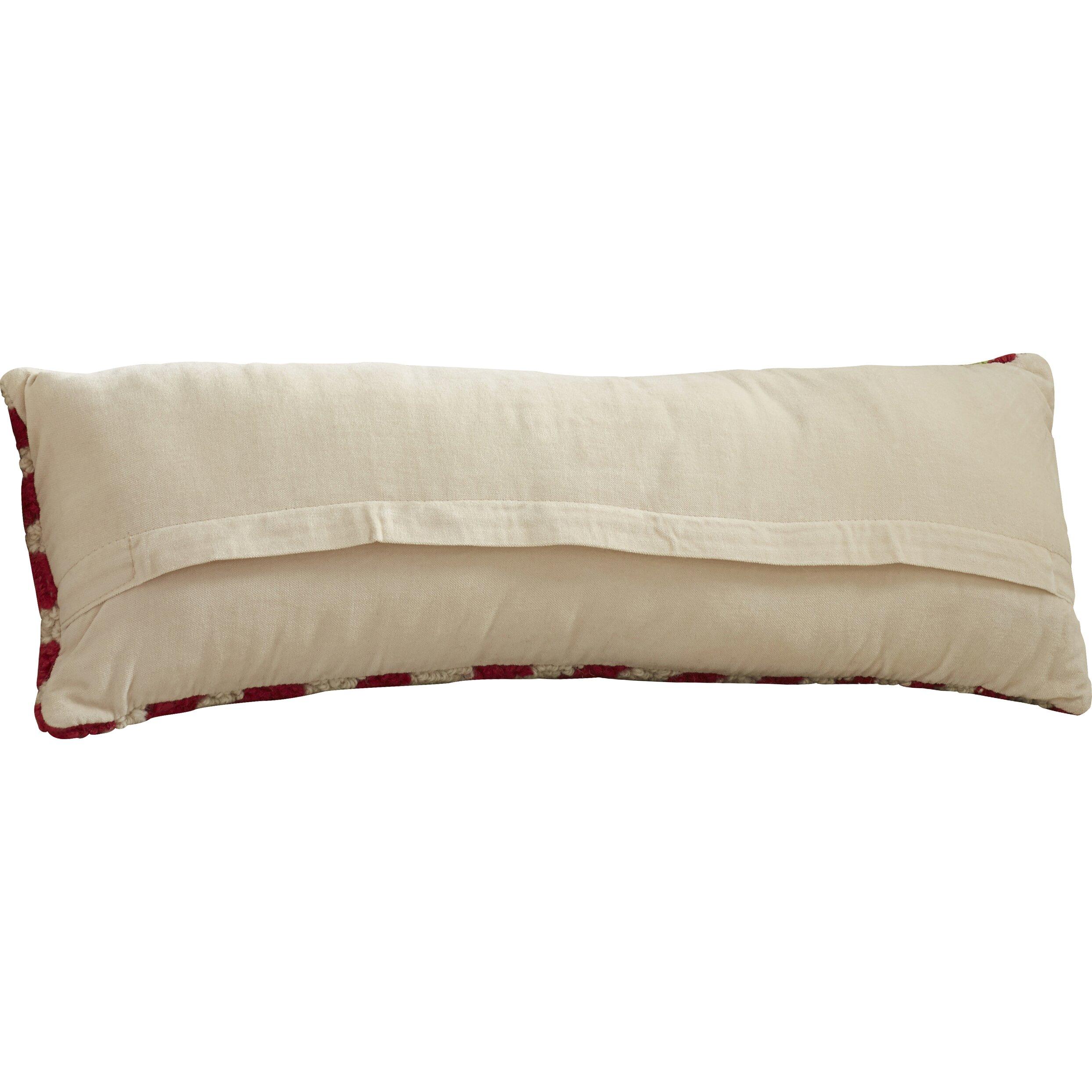 Joy Throw Pillow : Three Posts Fellsburg Joy Hook Wool Throw Pillow & Reviews Wayfair