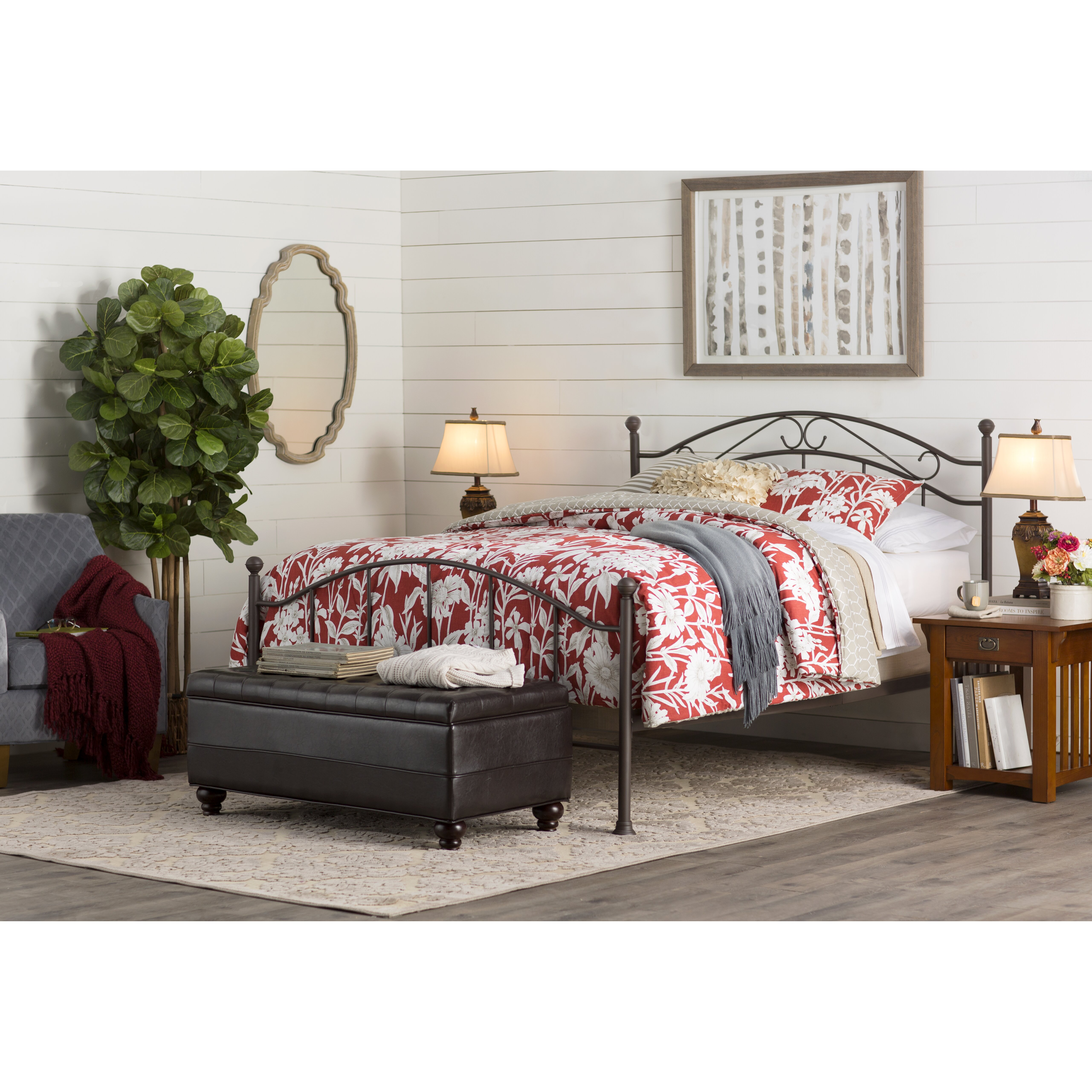 Three Posts Queen Four Poster Bed Reviews Wayfair