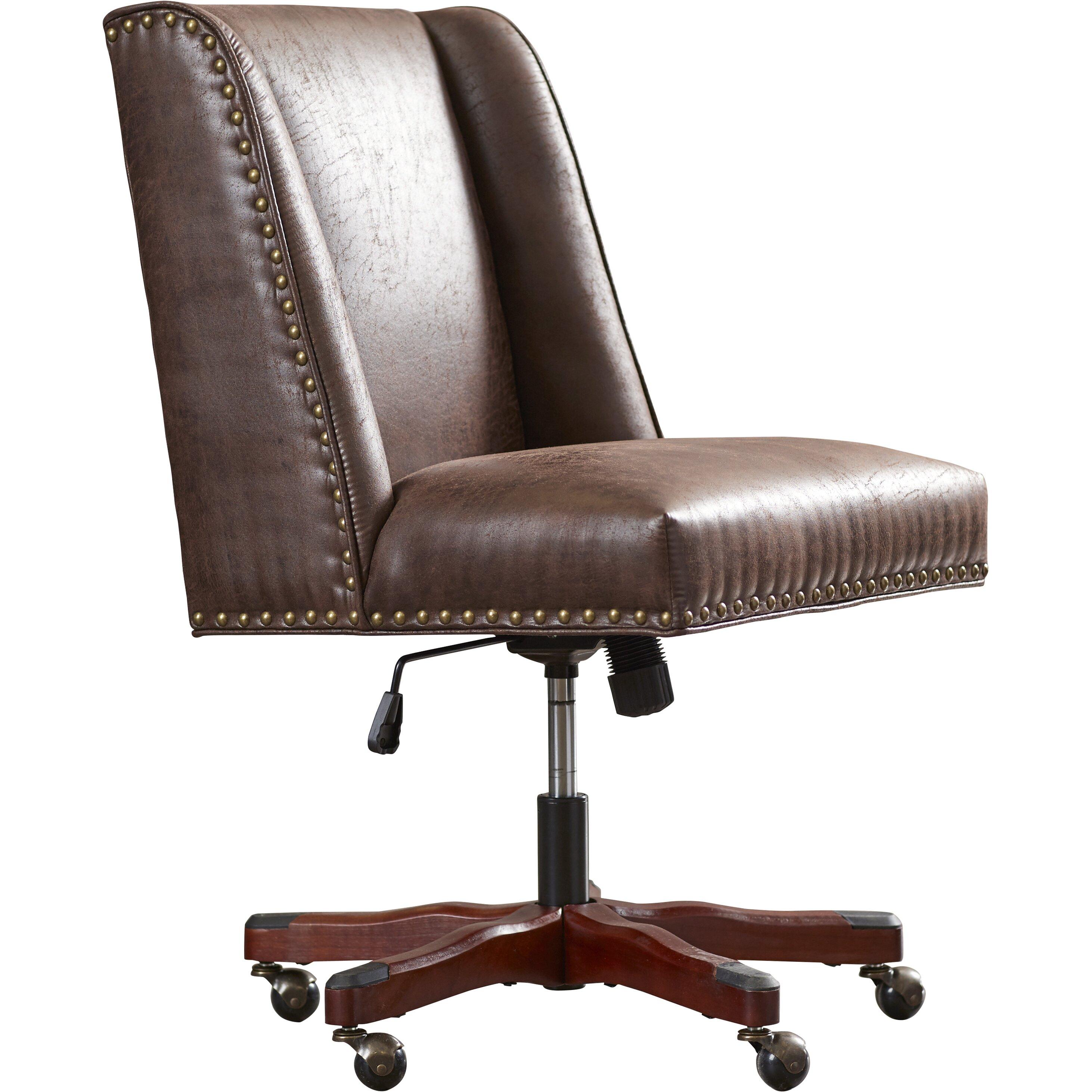 three posts brennan high back office chair reviews wayfair