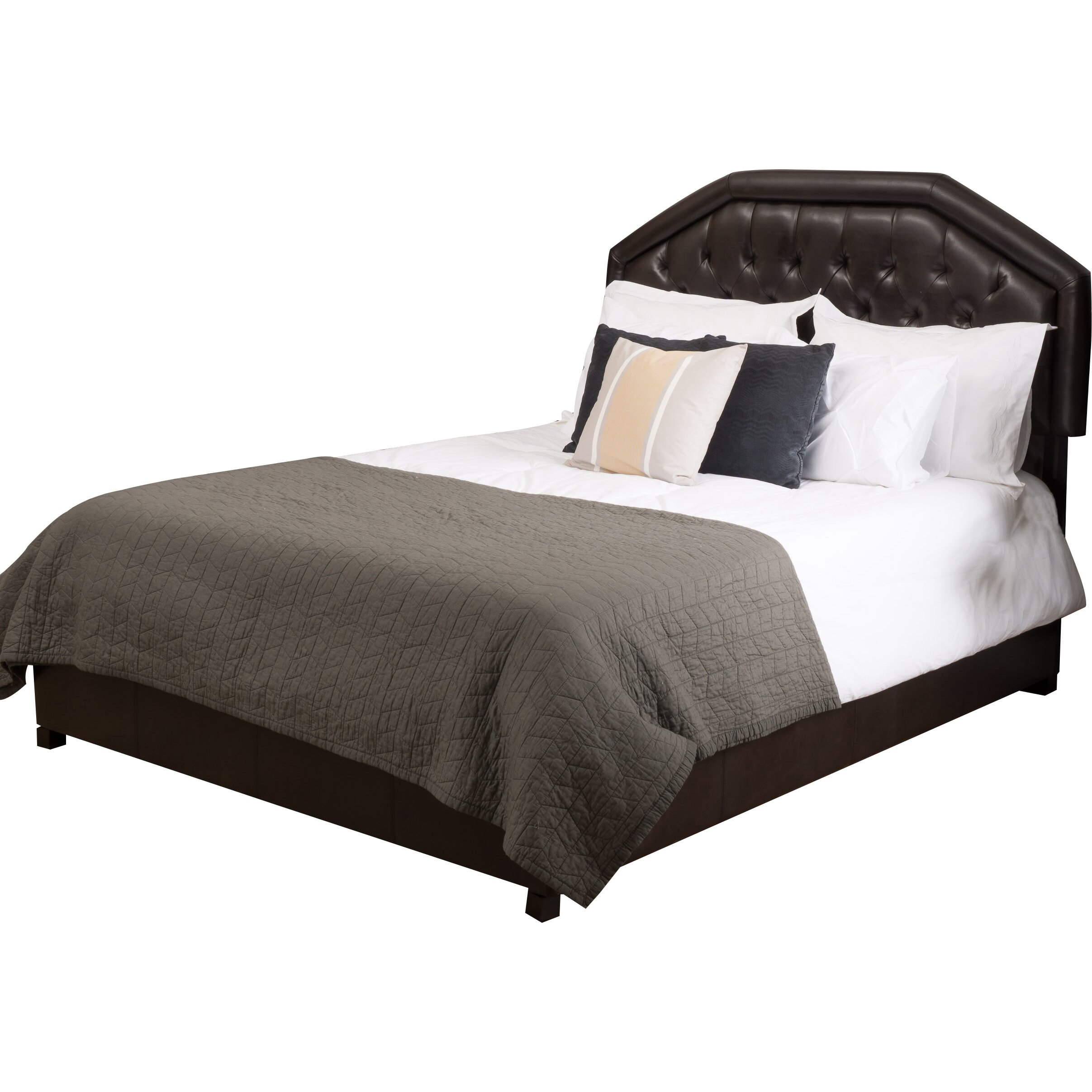 Three posts otsego upholstered storage panel bed reviews for Upholstered dog bed