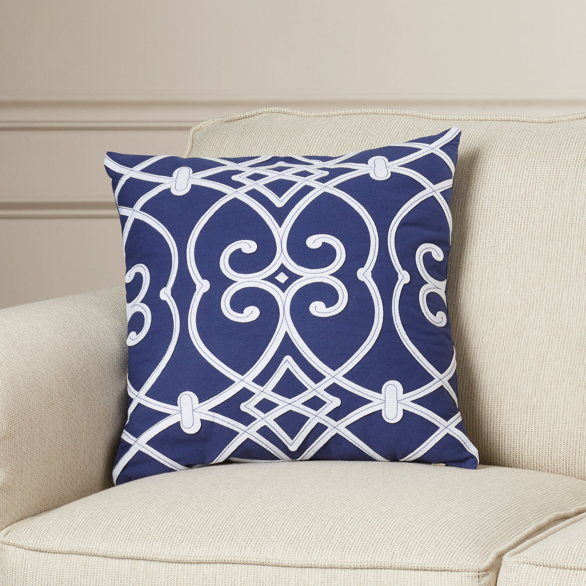 Throw Pillows Ballard Design : Patterned Outdoor Throw Pillows - Blond Anal Amateur
